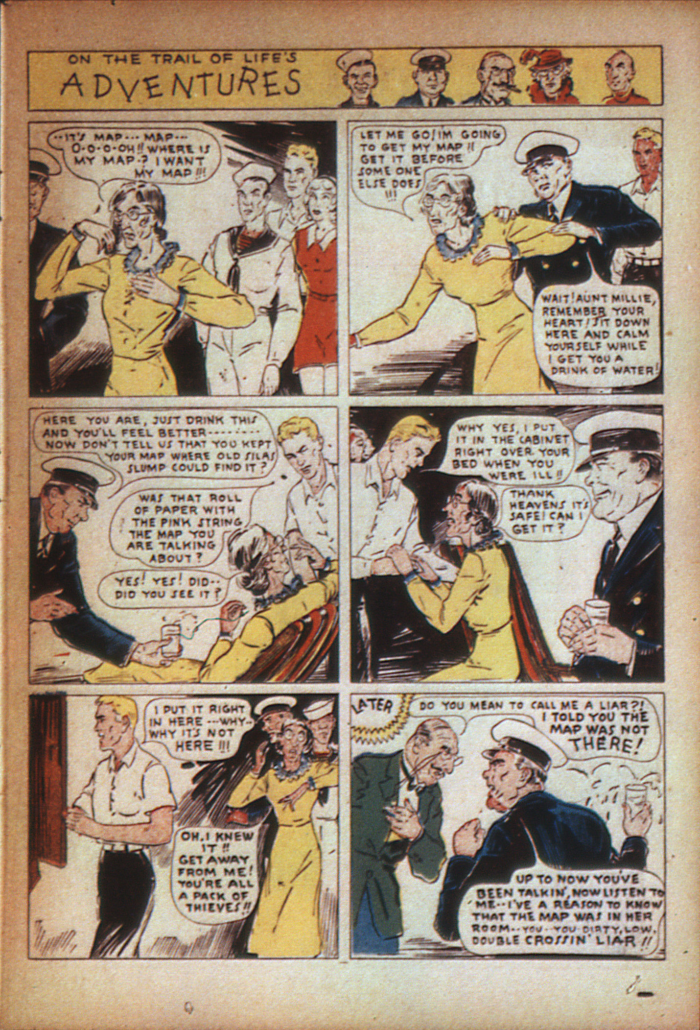 Read online Adventure Comics (1938) comic -  Issue #7 - 59