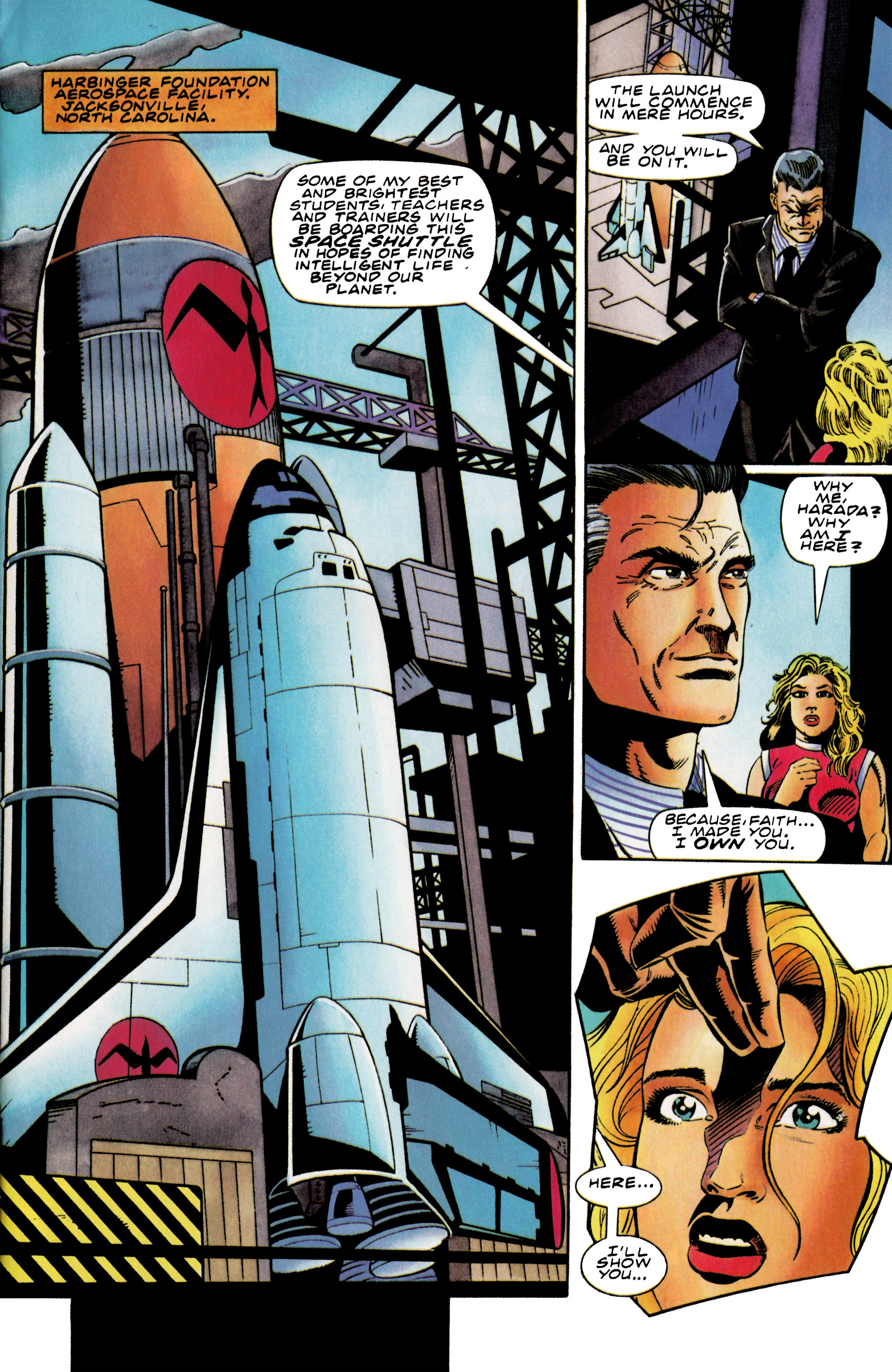 Read online Harbinger (1992) comic -  Issue #37 - 7