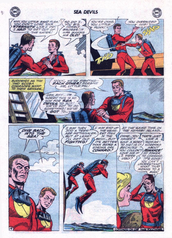Read online Sea Devils comic -  Issue #23 - 24