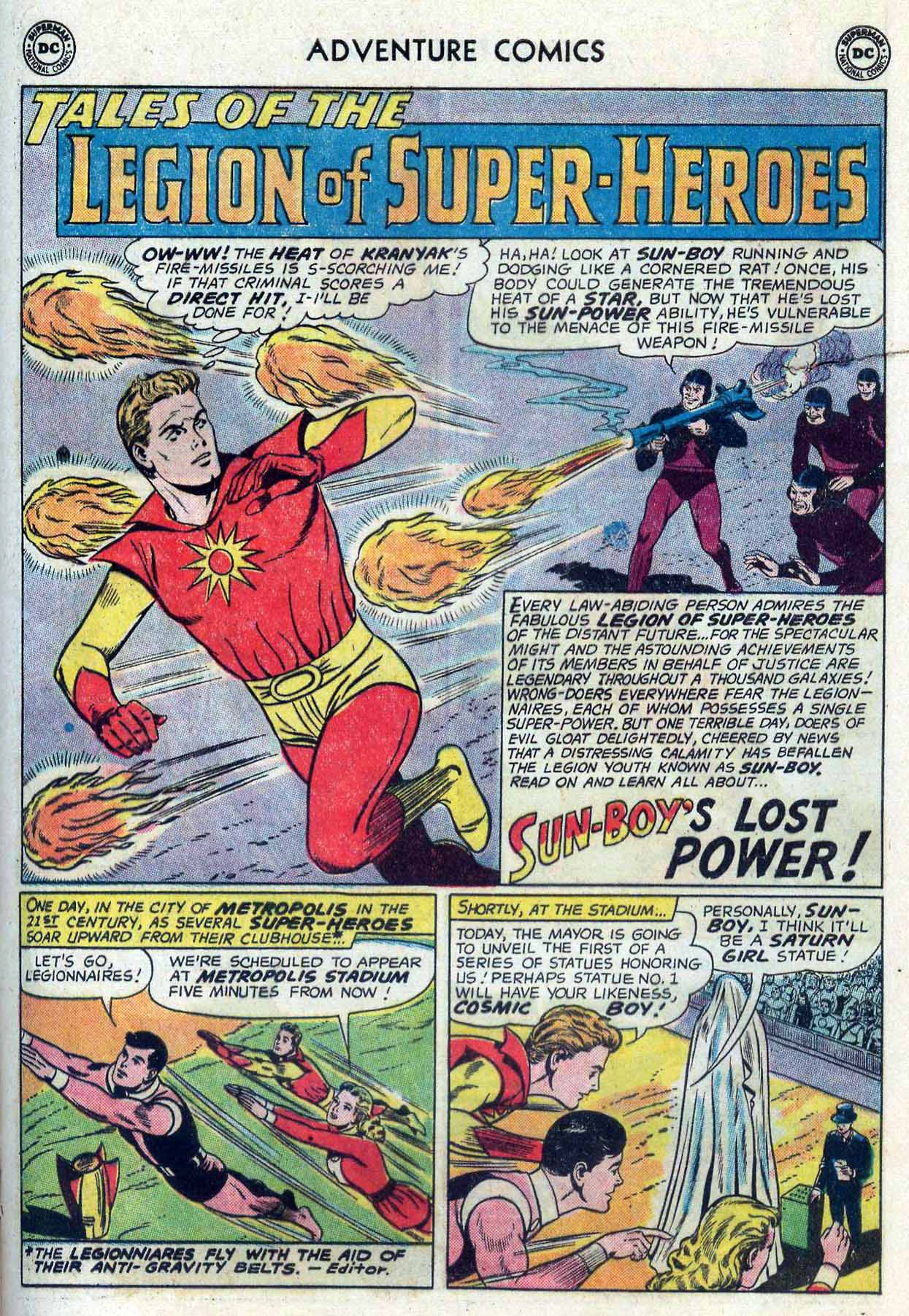 Read online Adventure Comics (1938) comic -  Issue #302 - 22