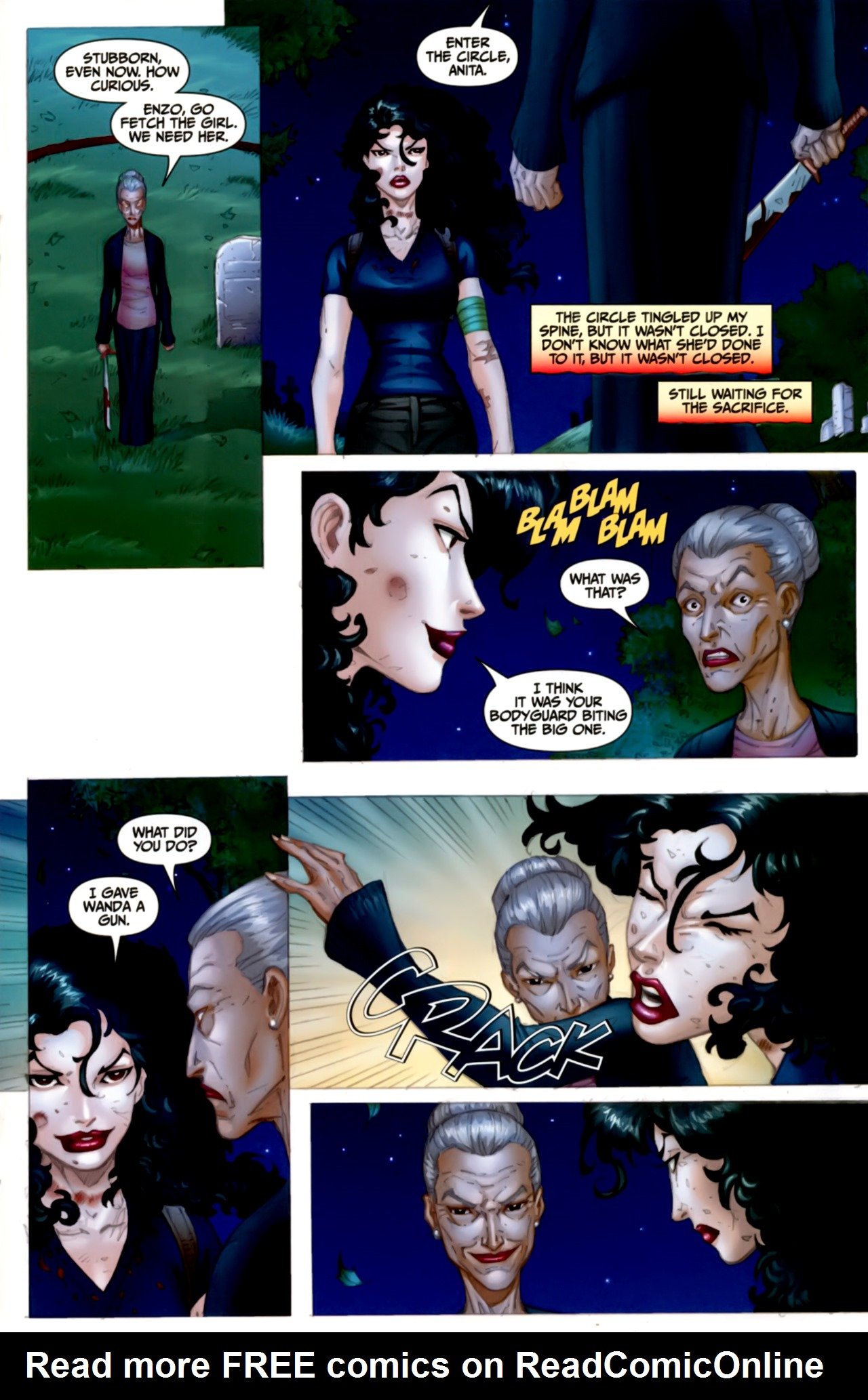 Read online Anita Blake: The Laughing Corpse - Executioner comic -  Issue #4 - 21