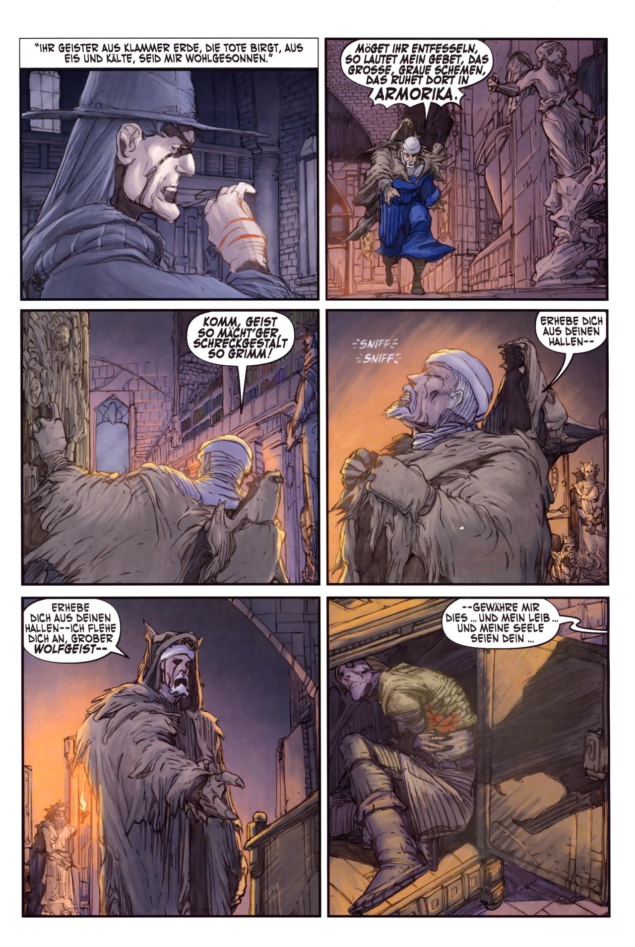 Read online Solomon Kane comic -  Issue #3 - 23