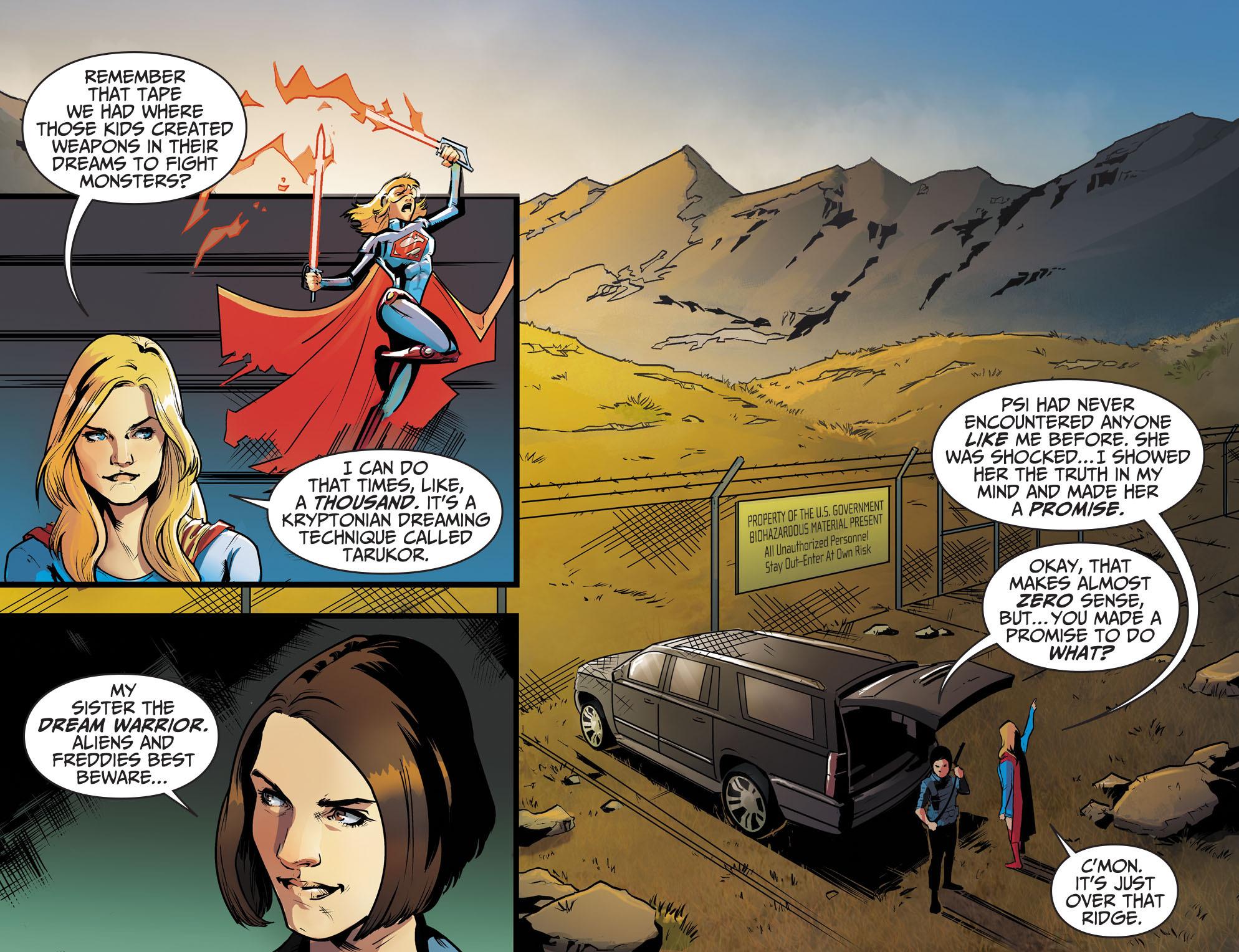 Read online Adventures of Supergirl comic -  Issue #8 - 11