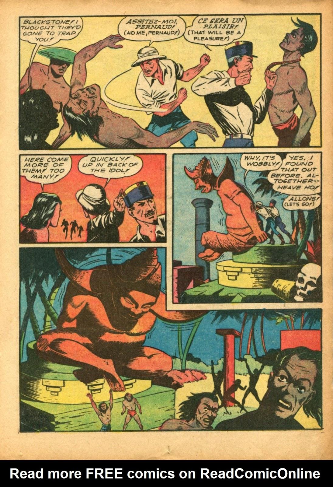 Read online Super-Magician Comics comic -  Issue #5 - 31