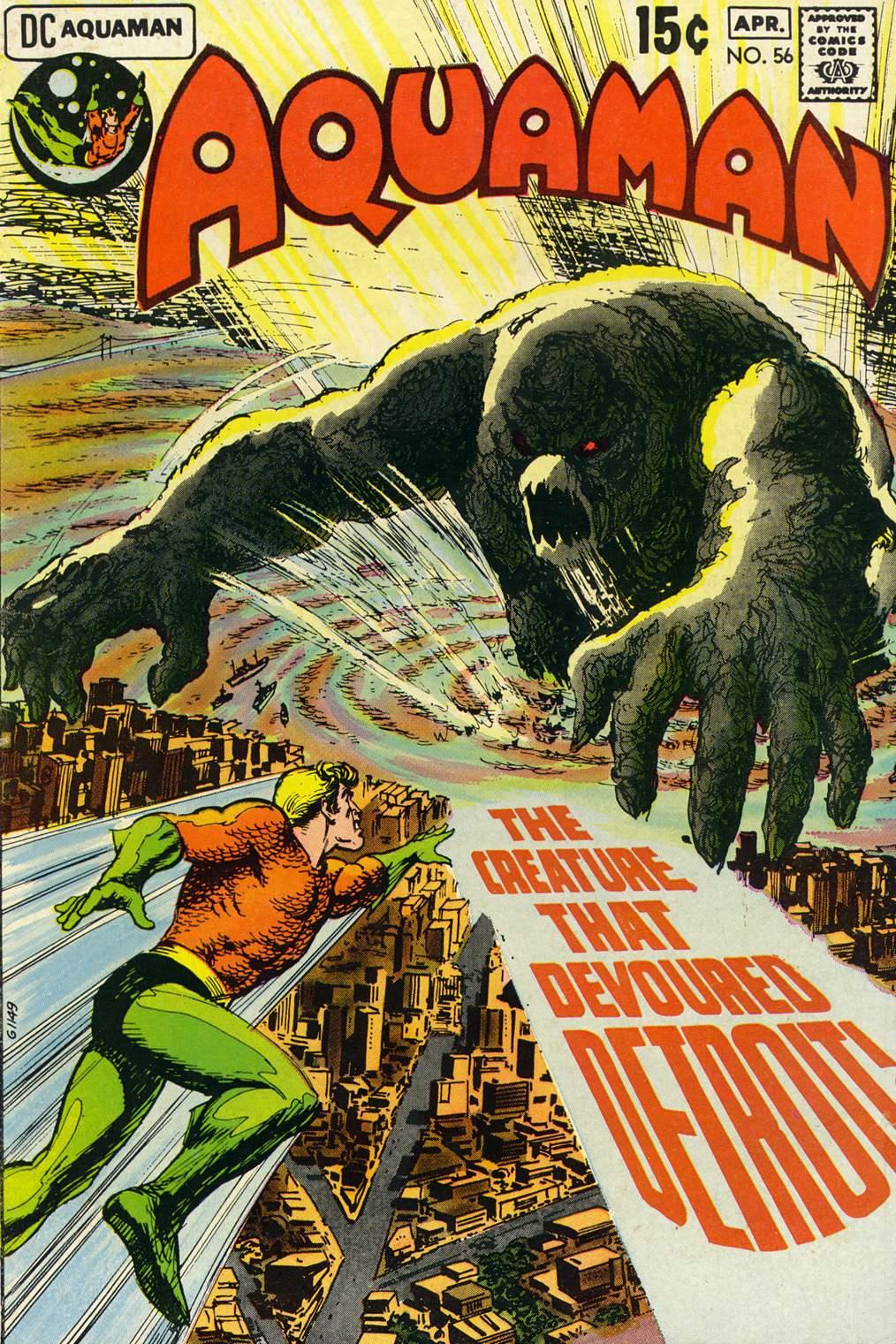 Read online Aquaman (1962) comic -  Issue #56 - 1