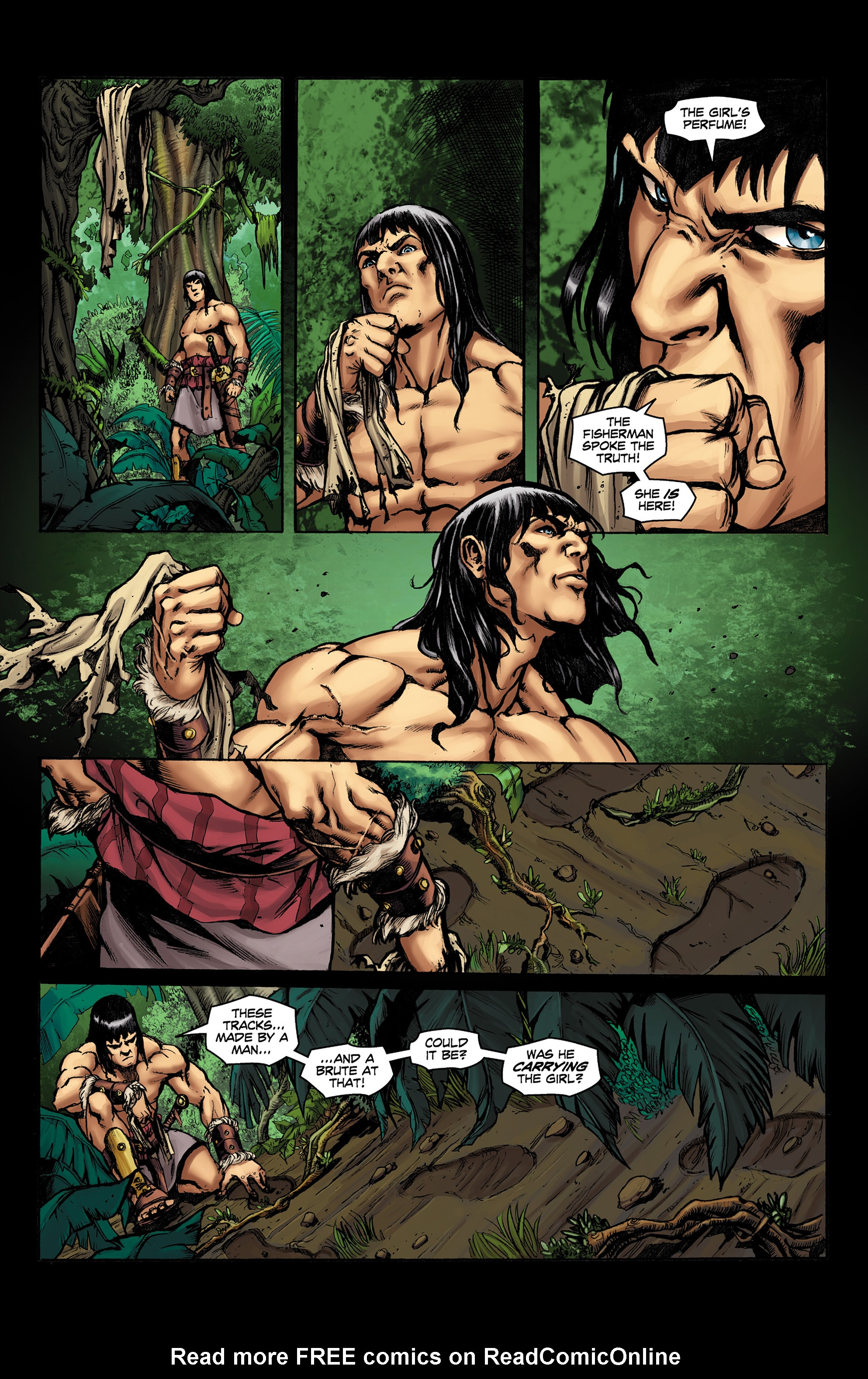 Read online Conan The Slayer comic -  Issue #9 - 5