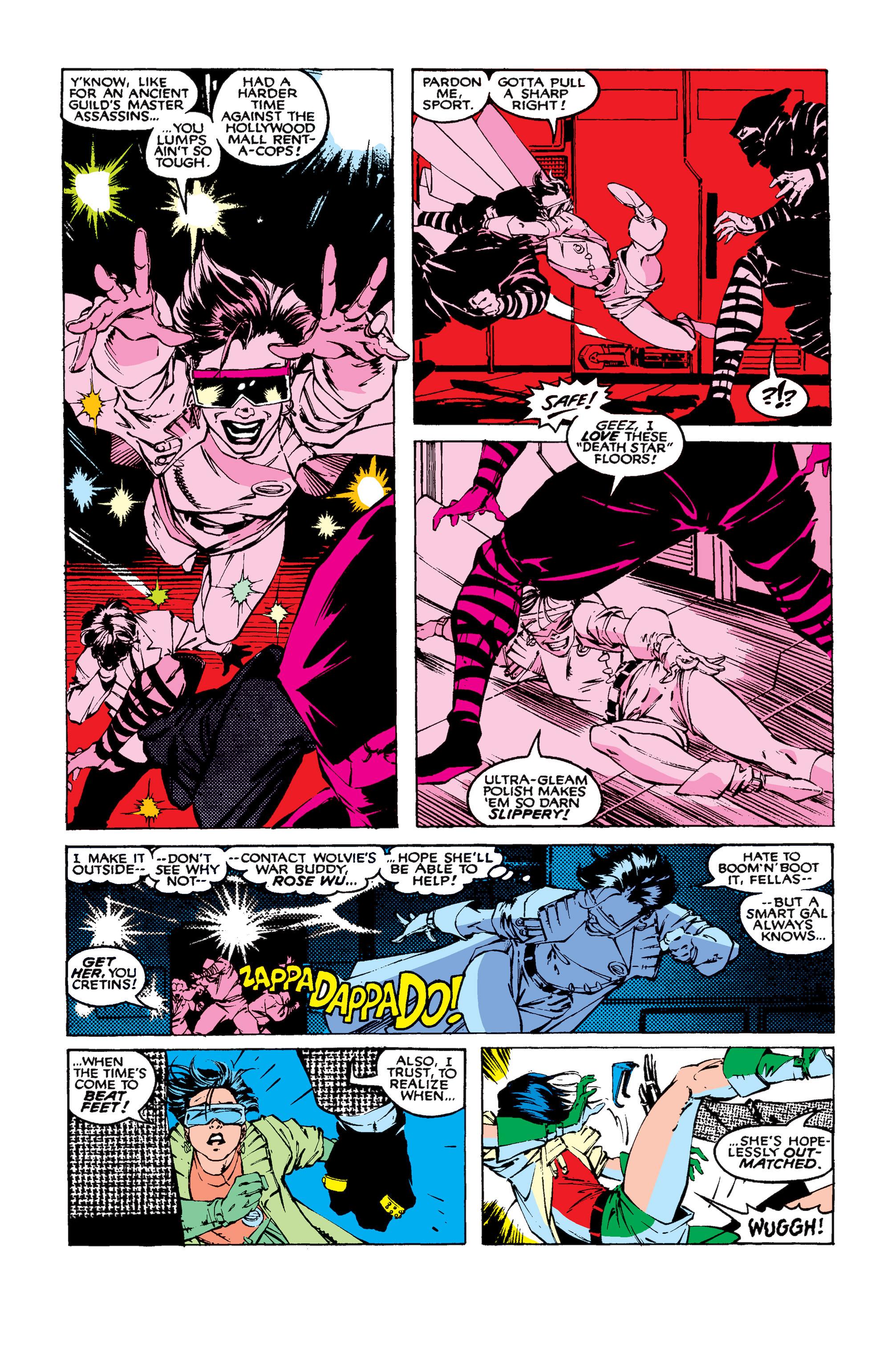 Read online Uncanny X-Men (1963) comic -  Issue #258 - 8