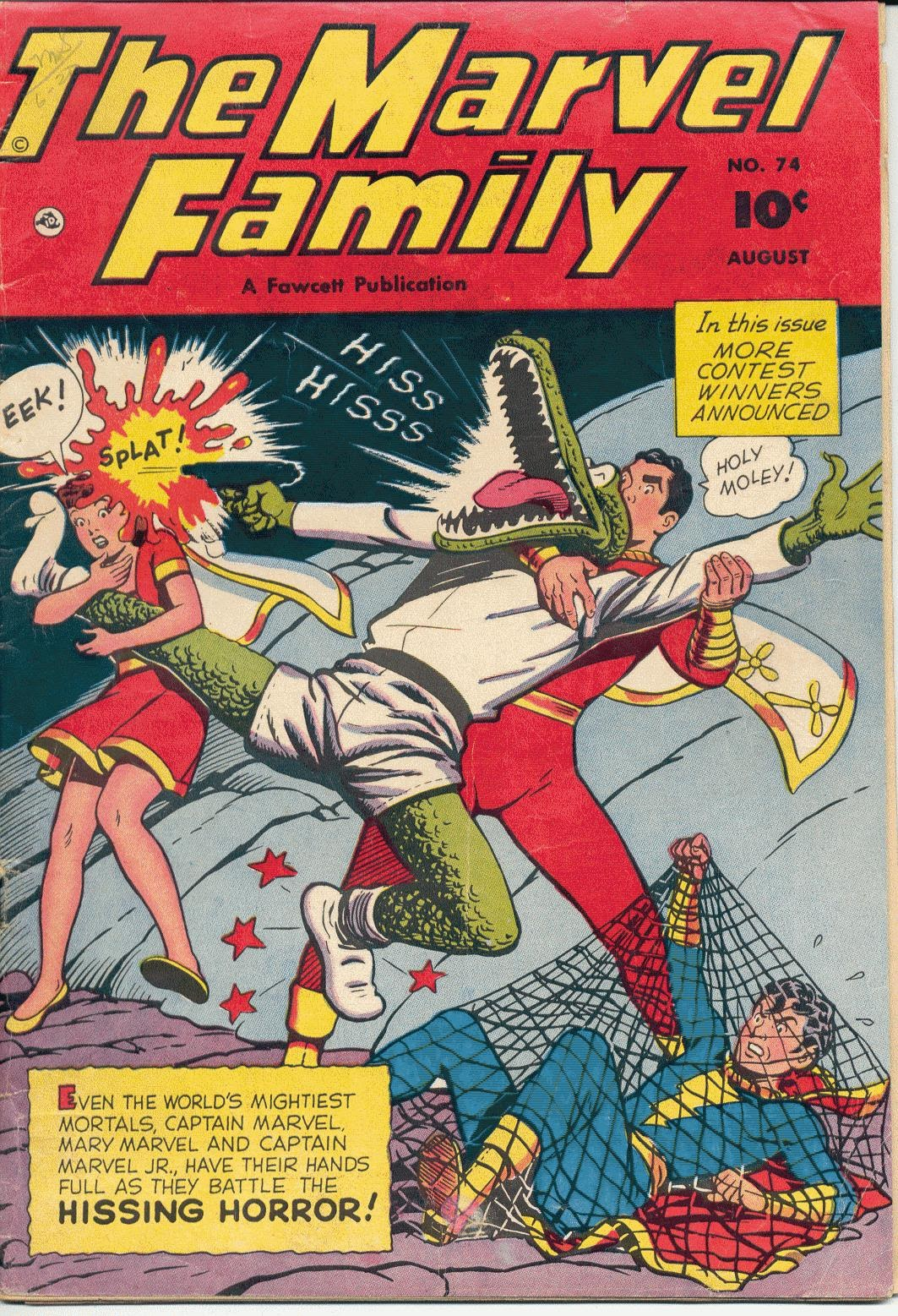 The Marvel Family 74 Page 1