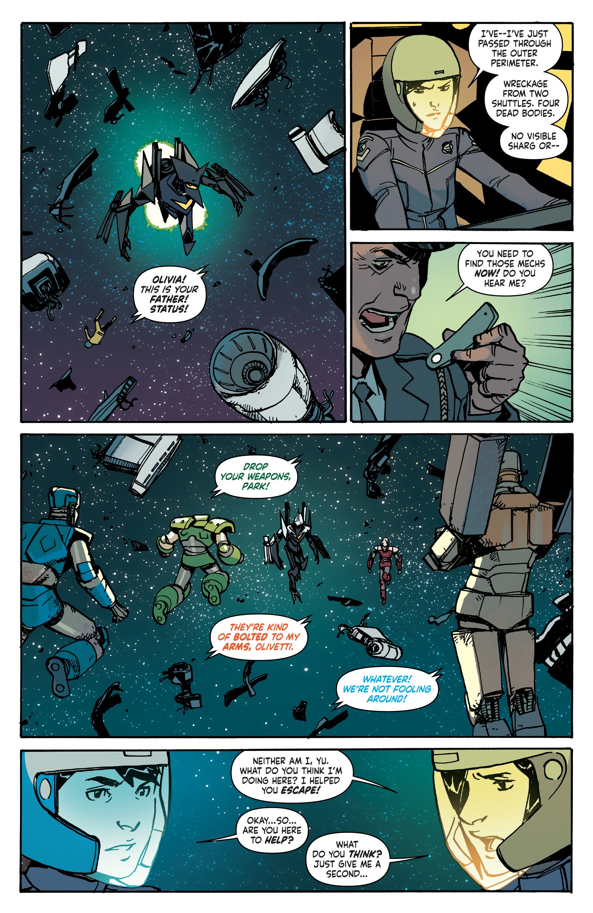Mech Cadet Yu #_TPB_2 #15 - English 92