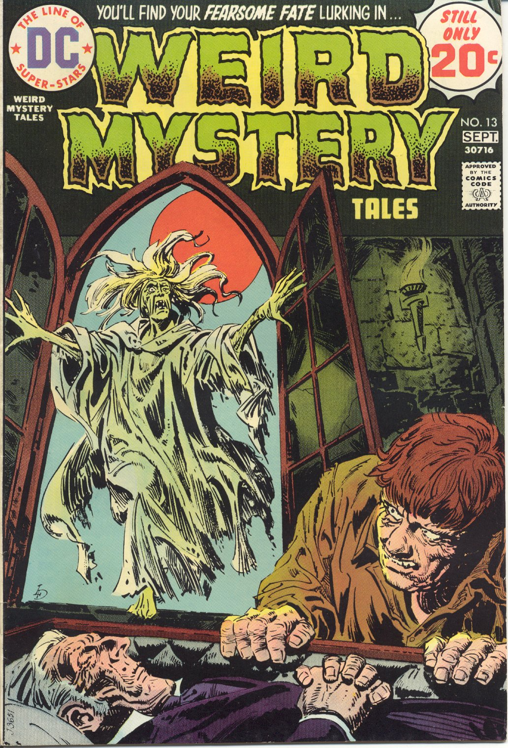 Weird Mystery Tales issue 13 - Page 1