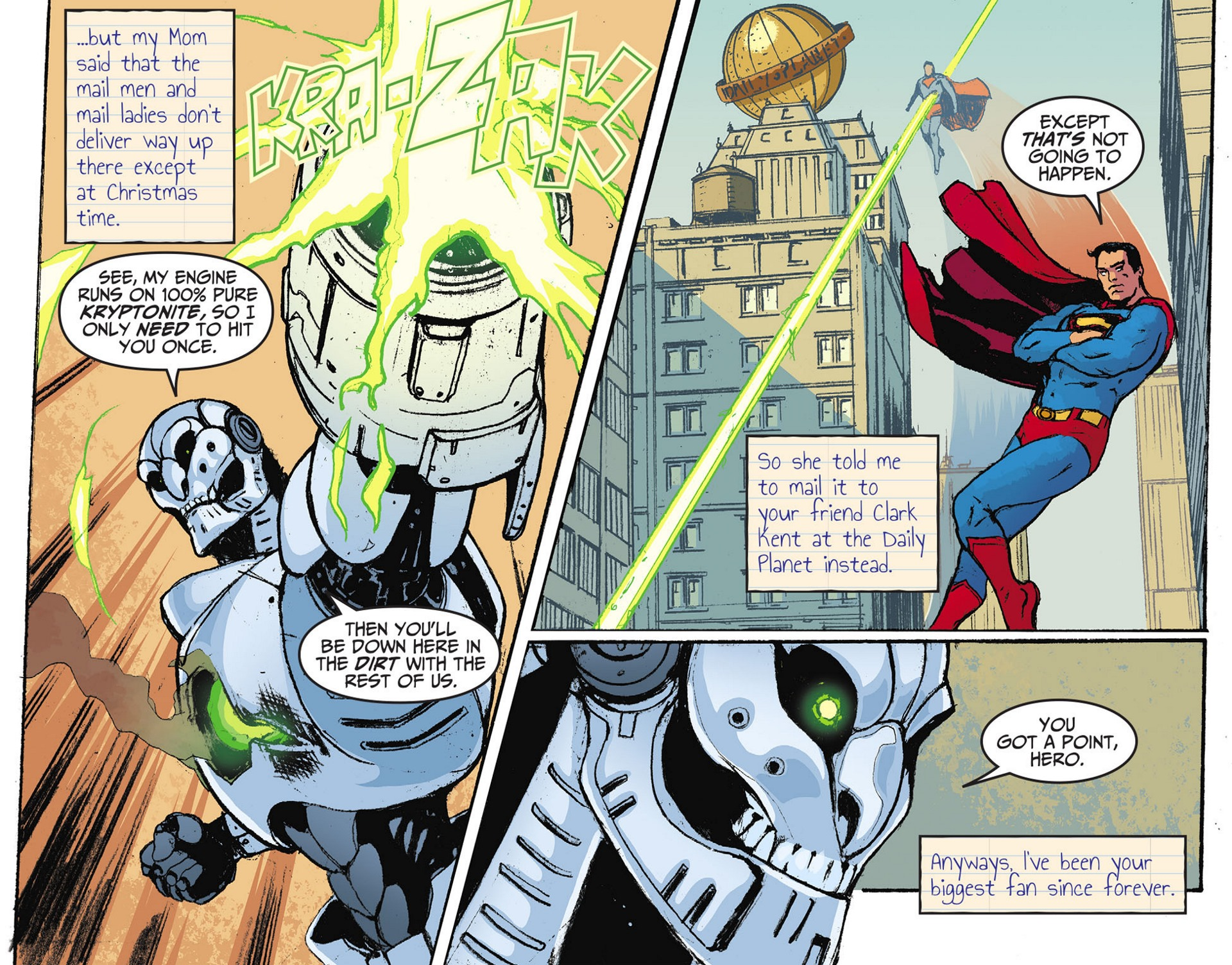 Read online Adventures of Superman [I] comic -  Issue #28 - 4