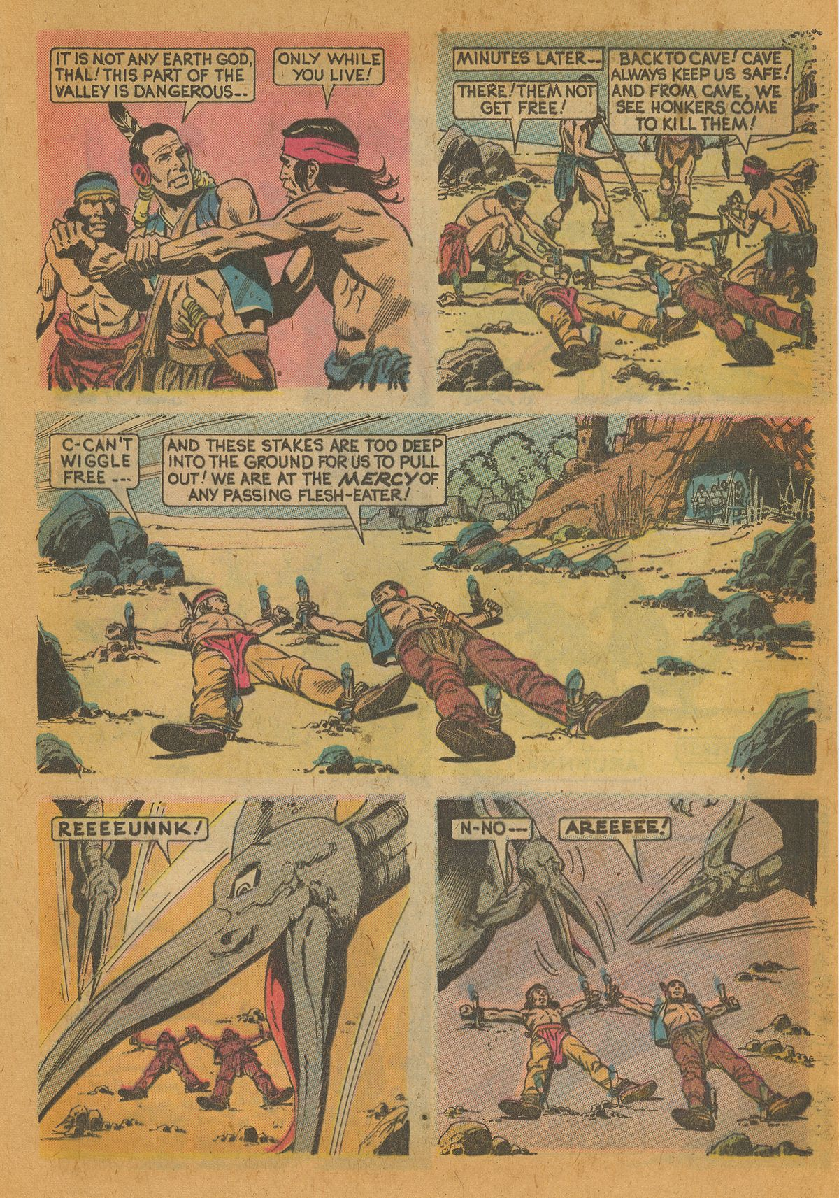 Read online Turok, Son of Stone comic -  Issue #112 - 25