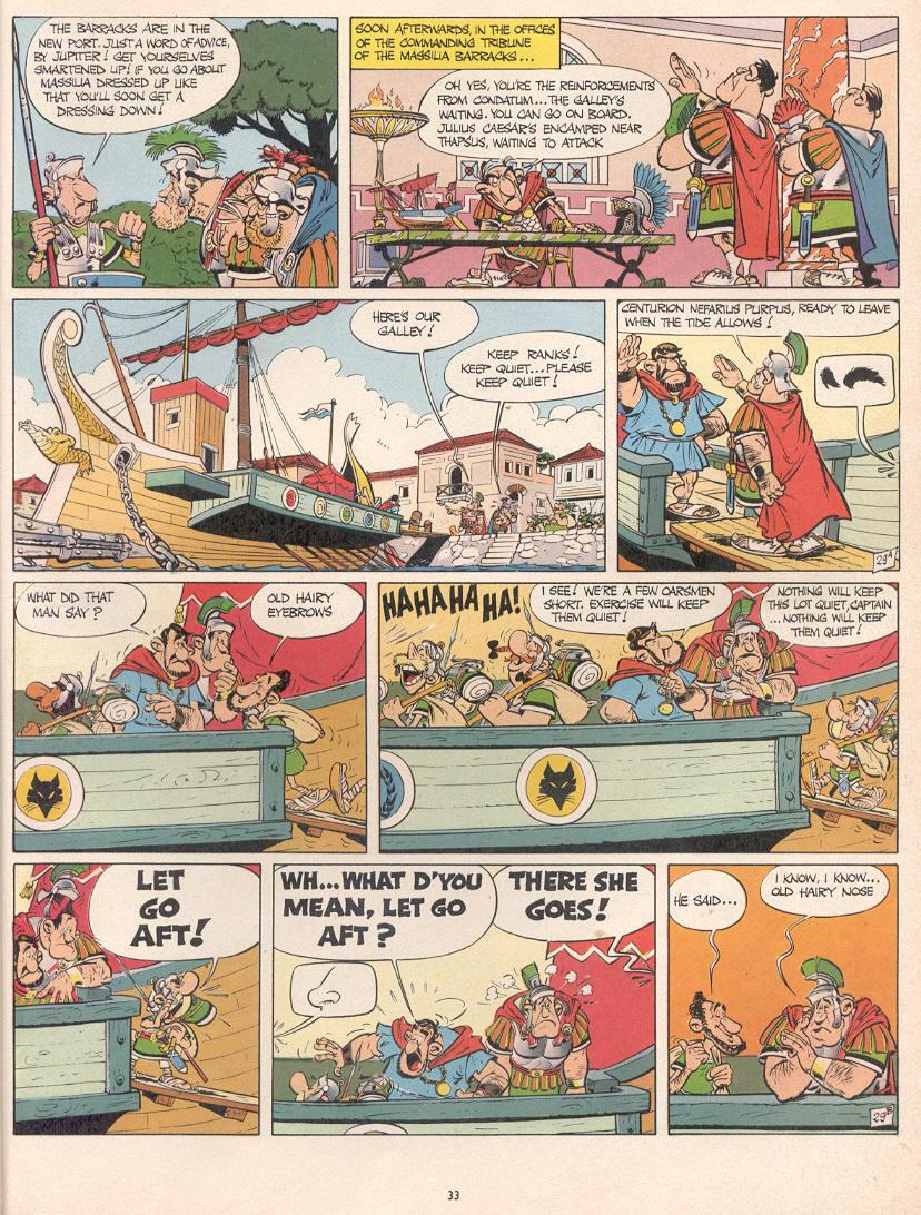 Read online Asterix comic -  Issue #10 - 30