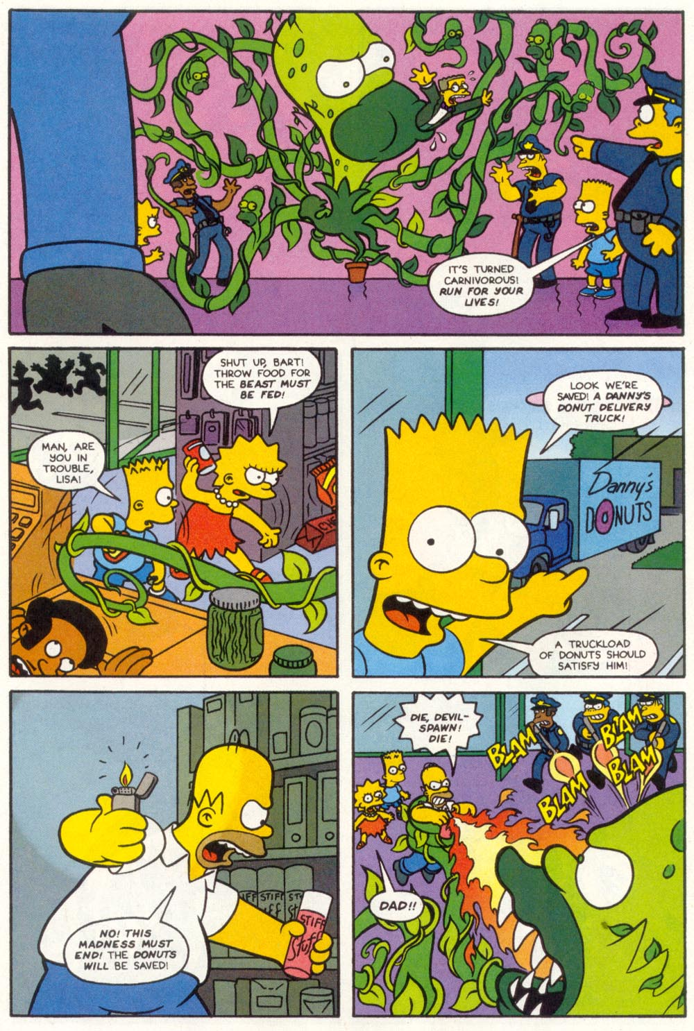 Read online Treehouse of Horror comic -  Issue #1 - 16