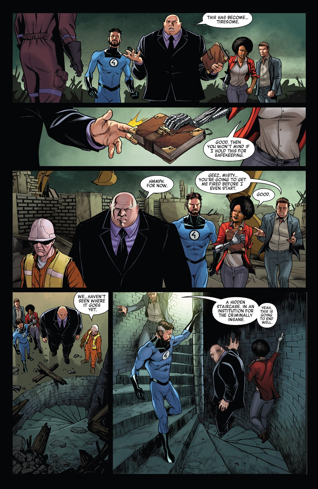 Read online Ruins Of Ravencroft comic -  Issue # Carnage - 31