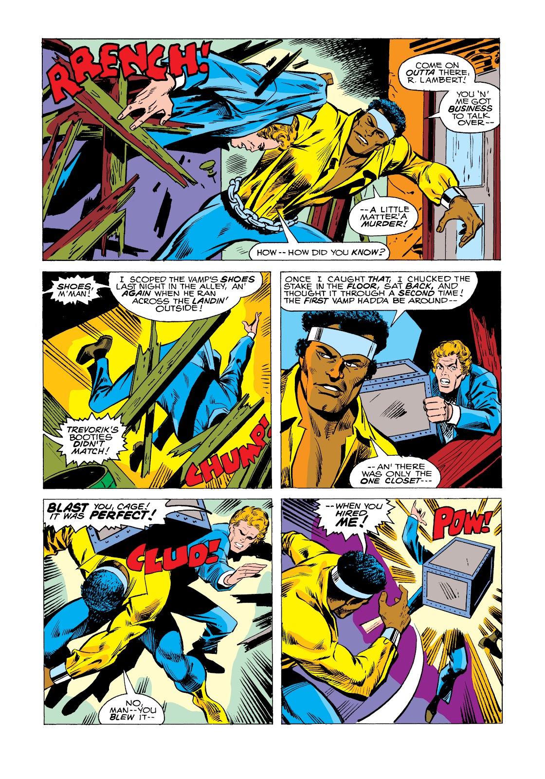 Read online Marvel Masterworks: Luke Cage, Power Man comic -  Issue # TPB 2 (Part 2) - 99