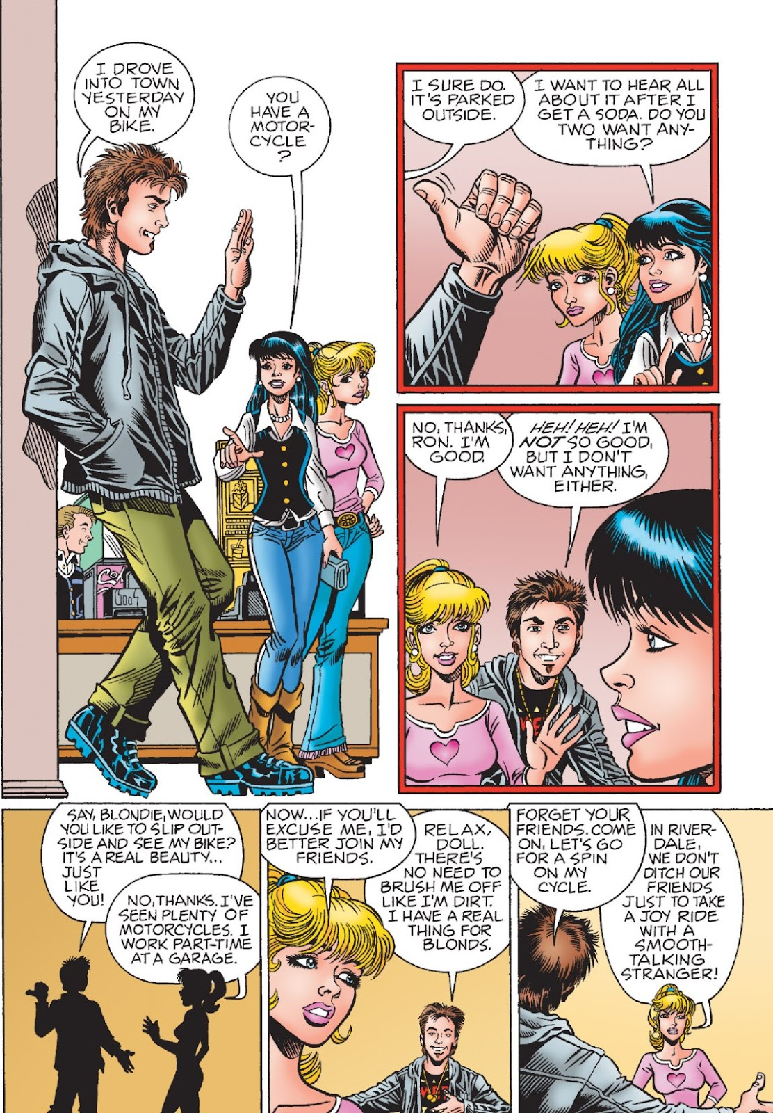 Read online Archie's New Look Series comic -  Issue #1 - 14