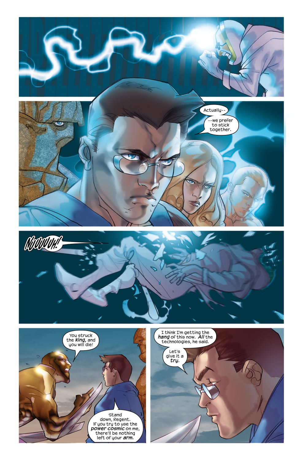 Read online Ultimate Fantastic Four (2004) comic -  Issue #46 - 22