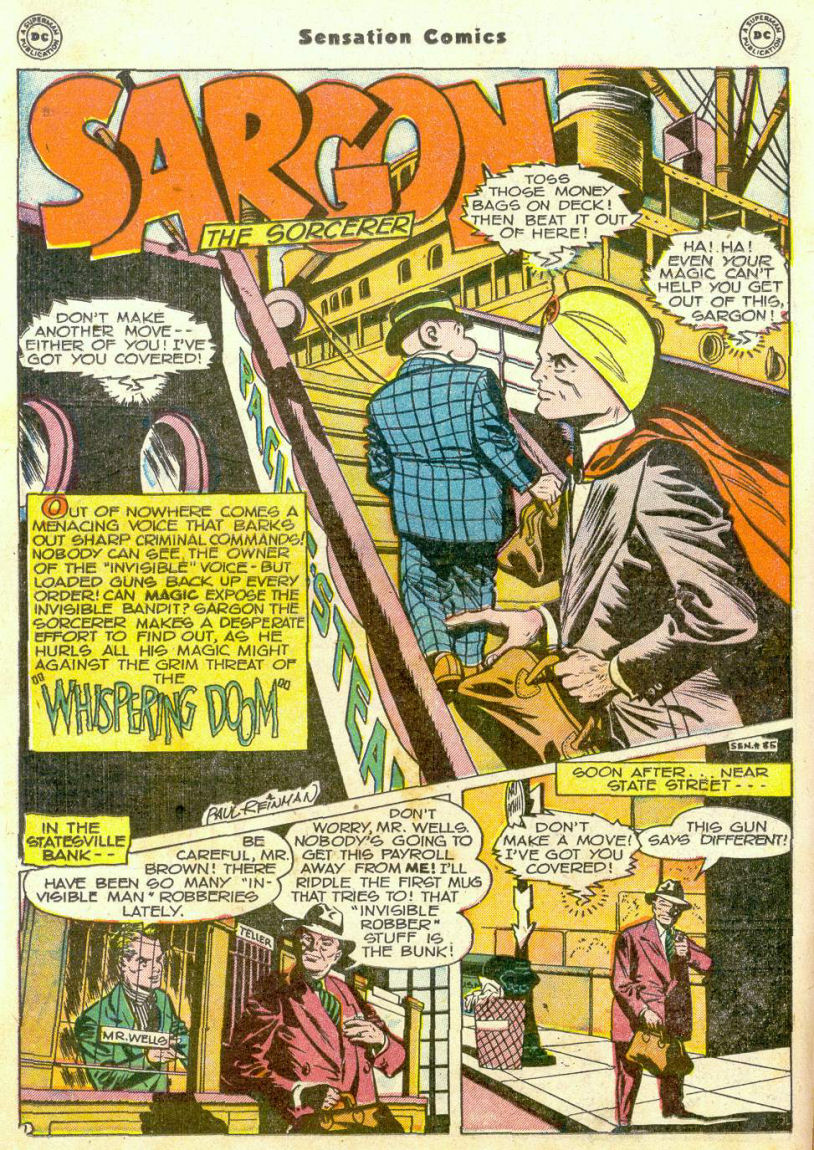 Read online Sensation (Mystery) Comics comic -  Issue #75 - 23