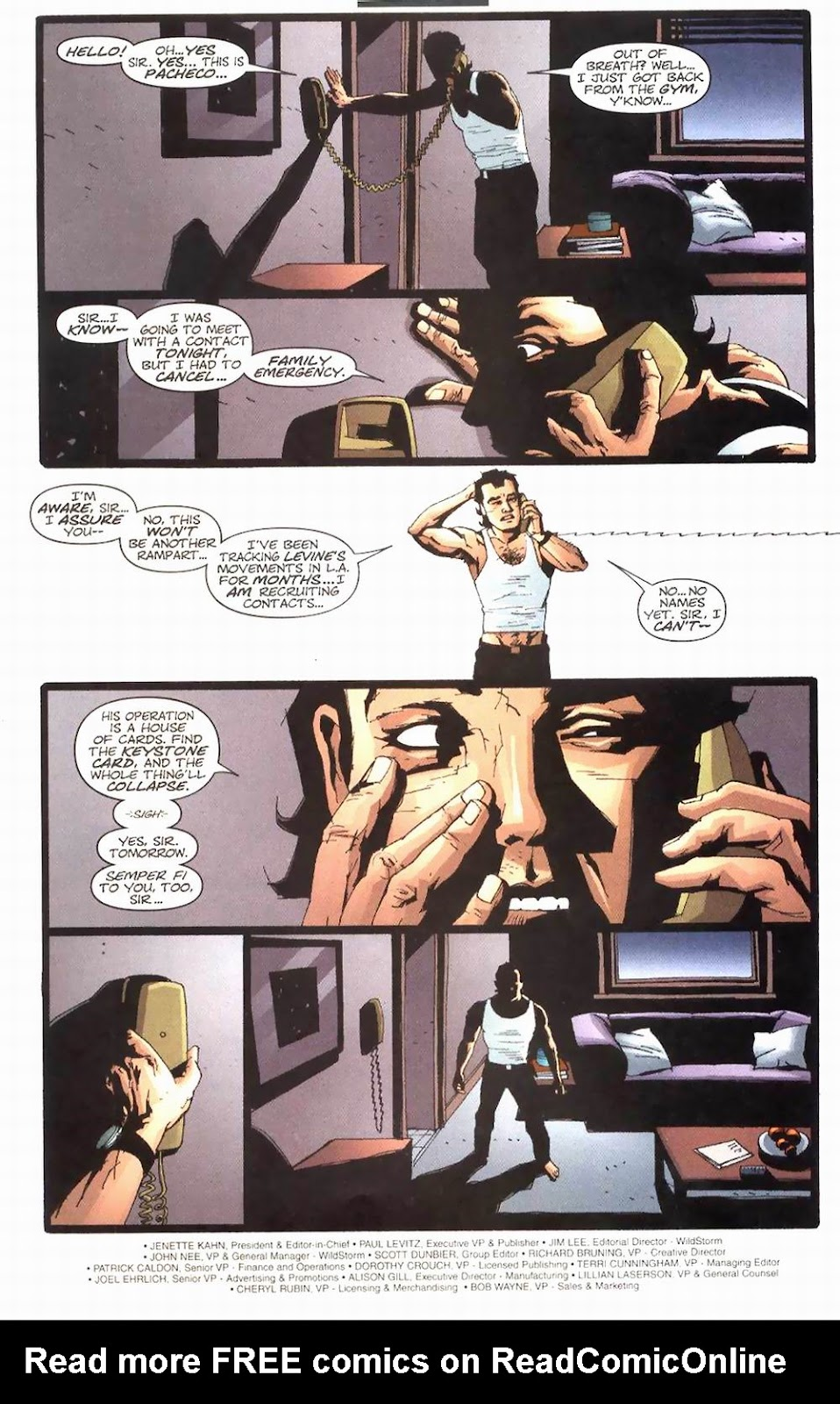 Wildcats (1999) Issue #24 #25 - English 6