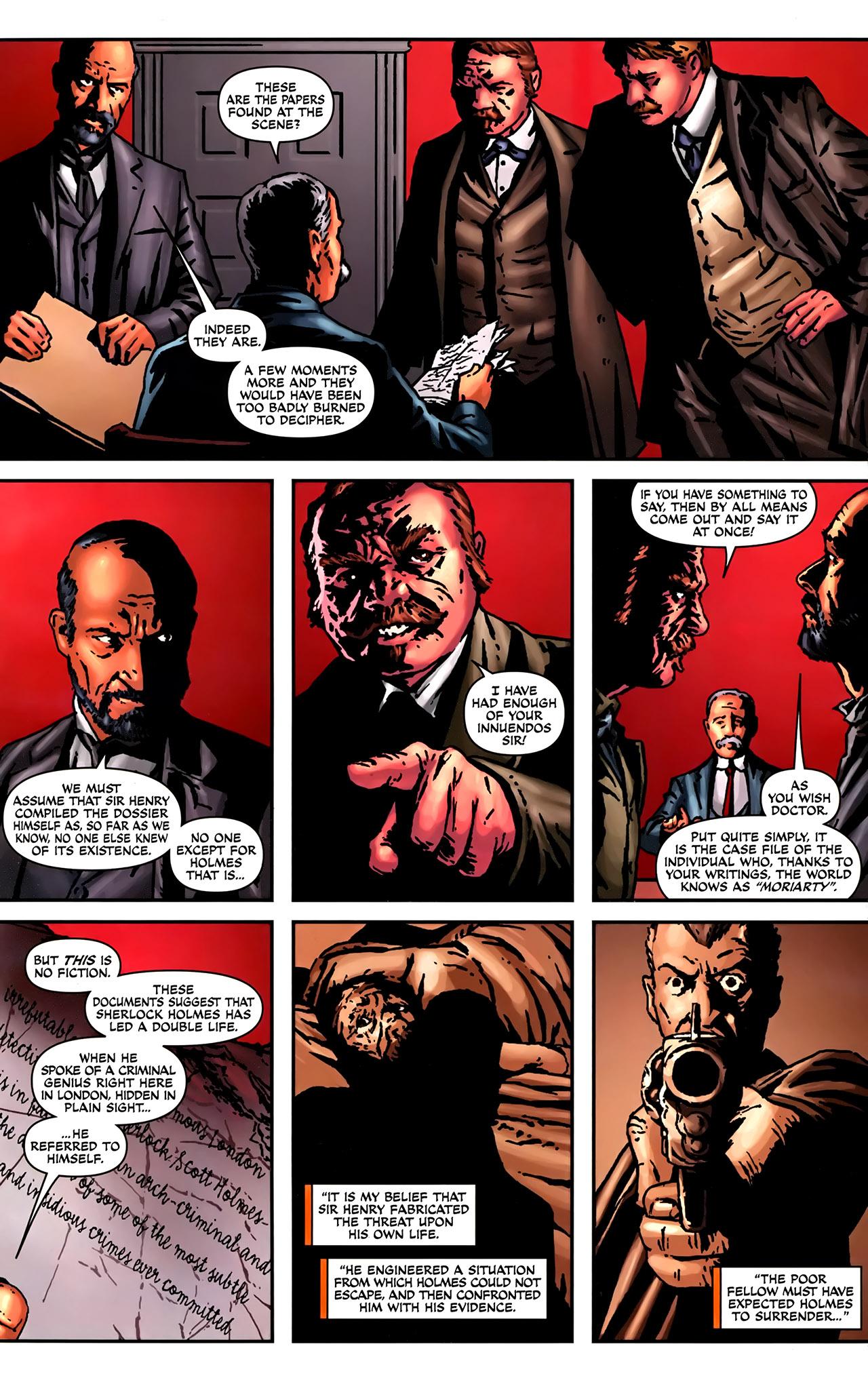 Read online Sherlock Holmes (2009) comic -  Issue #2 - 5