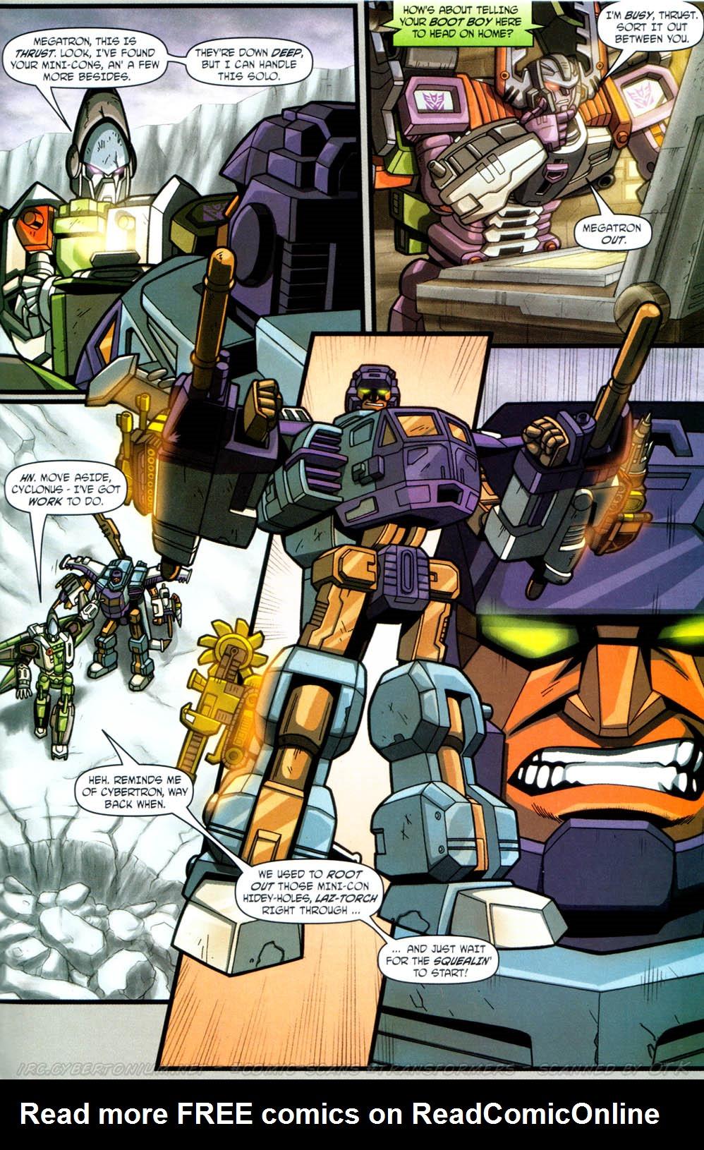 Read online Transformers Armada comic -  Issue #12 - 21