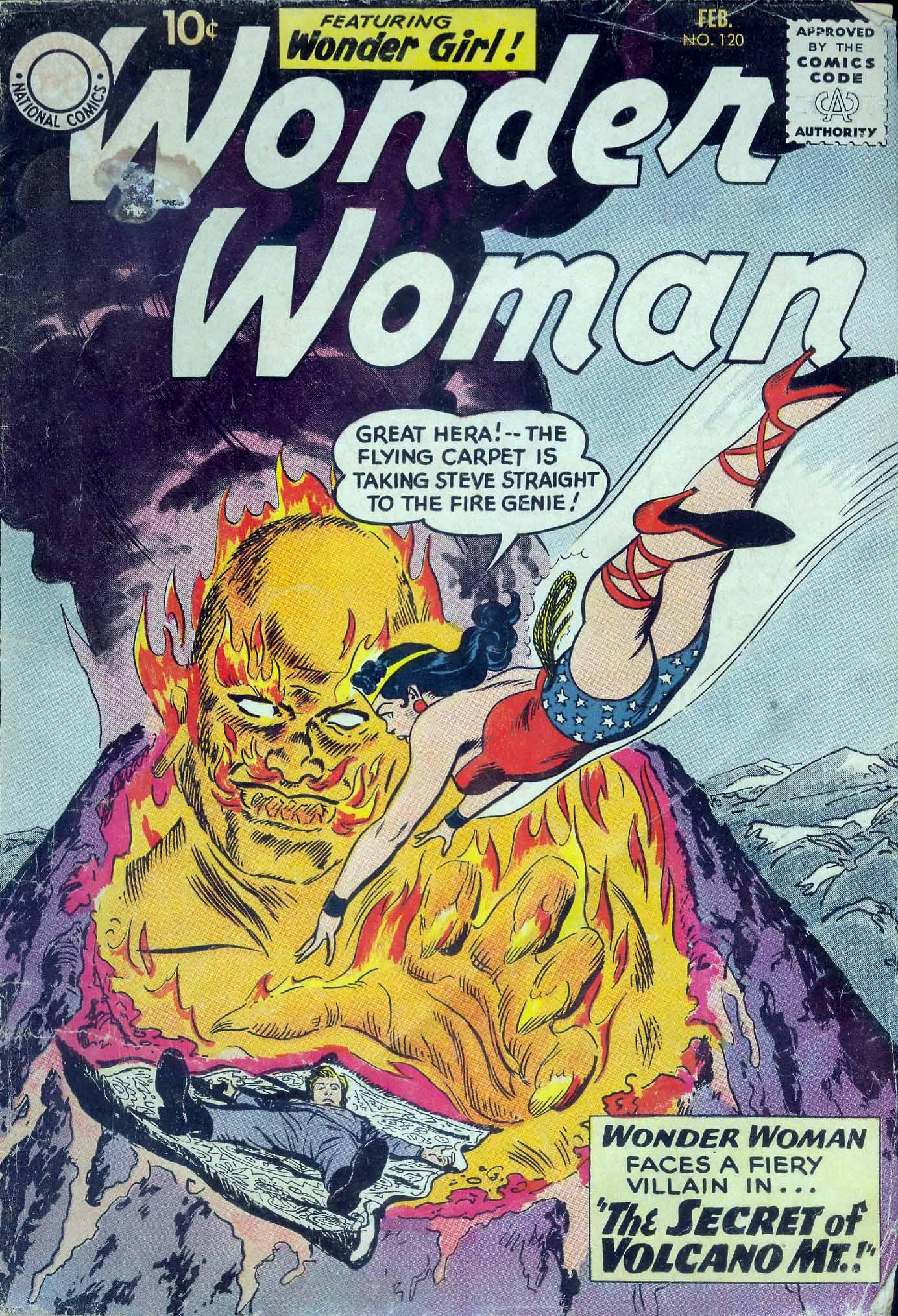Read online Wonder Woman (1942) comic -  Issue #120 - 1