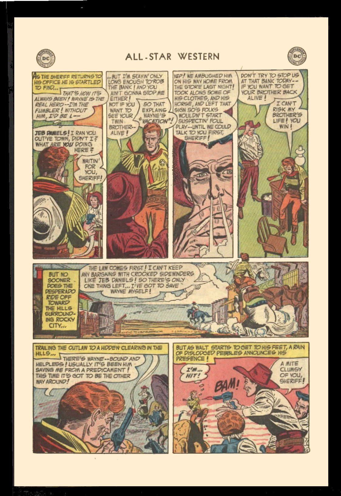 Read online All-Star Western (1951) comic -  Issue #72 - 30