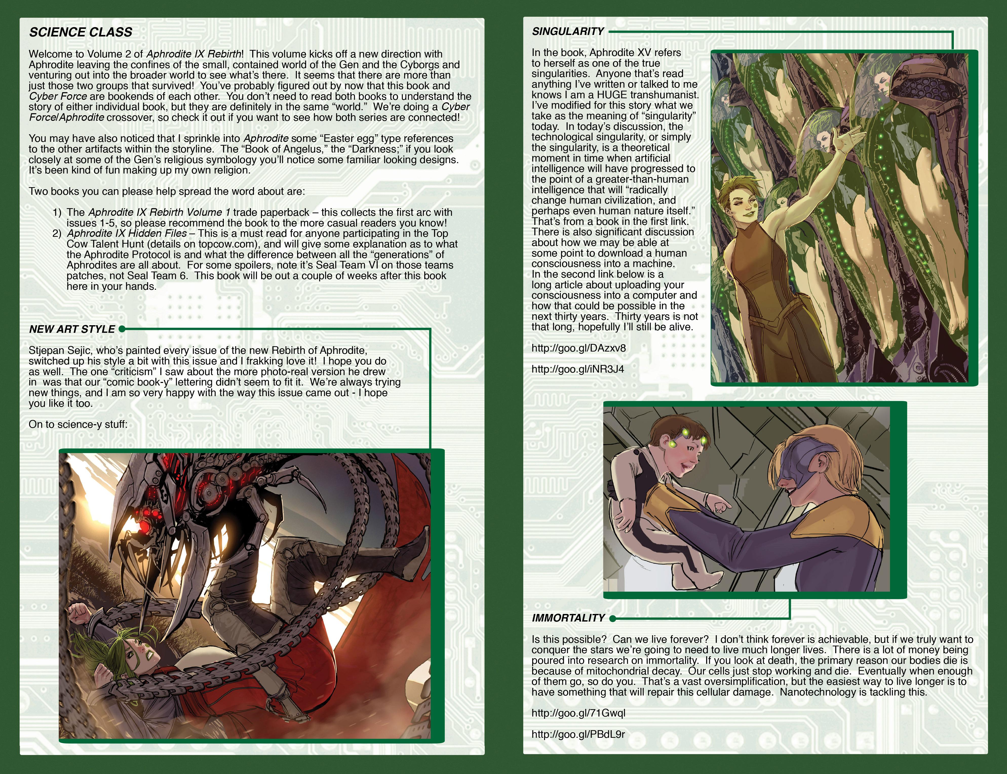 Read online Aphrodite IX (2013) comic -  Issue #Aphrodite IX (2013) _TPB 2 - 132
