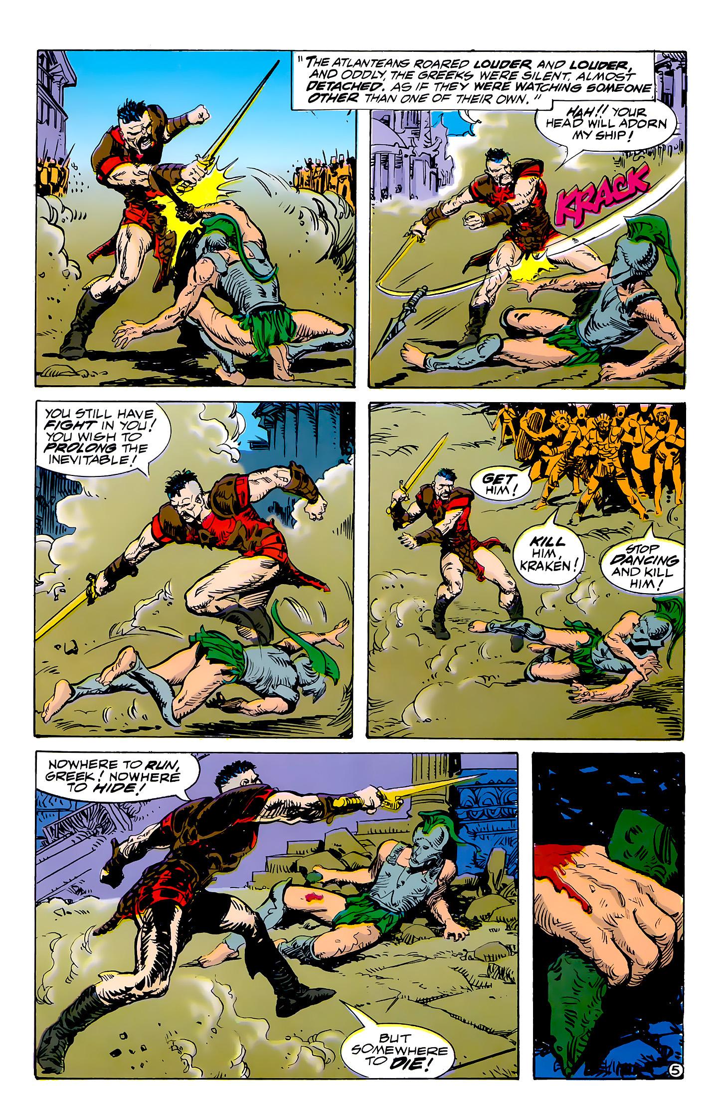 Read online Atlantis Chronicles comic -  Issue #7 - 6