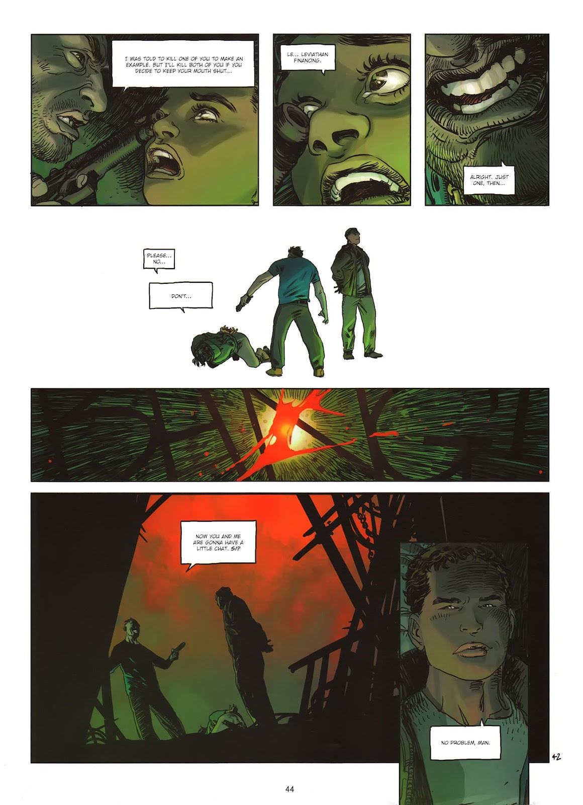 Read online Cutting Edge (2013) comic -  Issue #1 - 42
