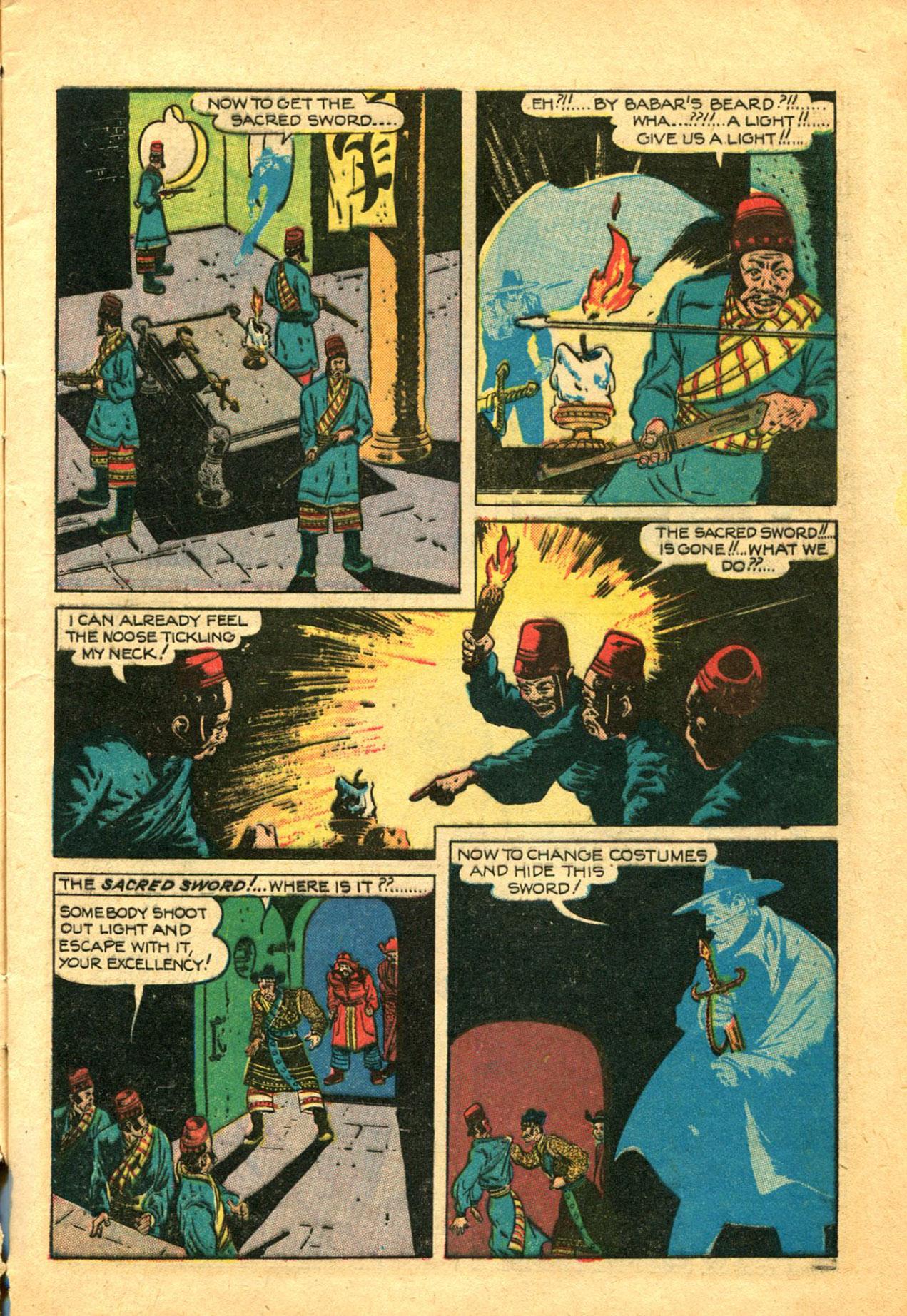 Read online Shadow Comics comic -  Issue #78 - 9