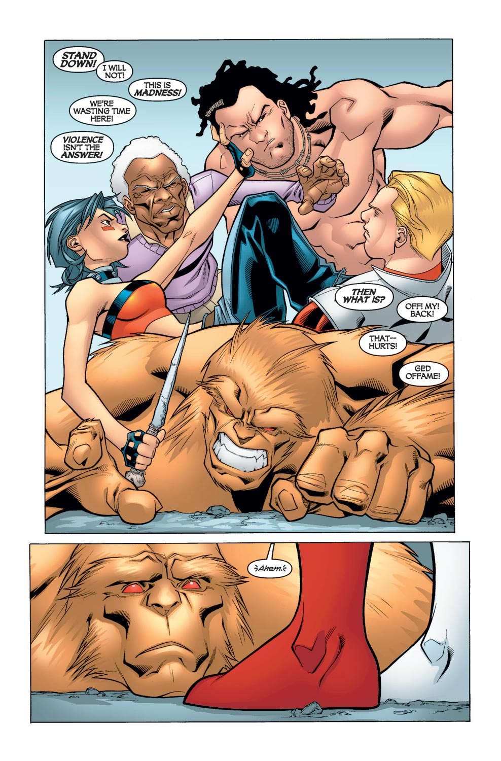 Alpha Flight (2004) issue 6 - Page 14