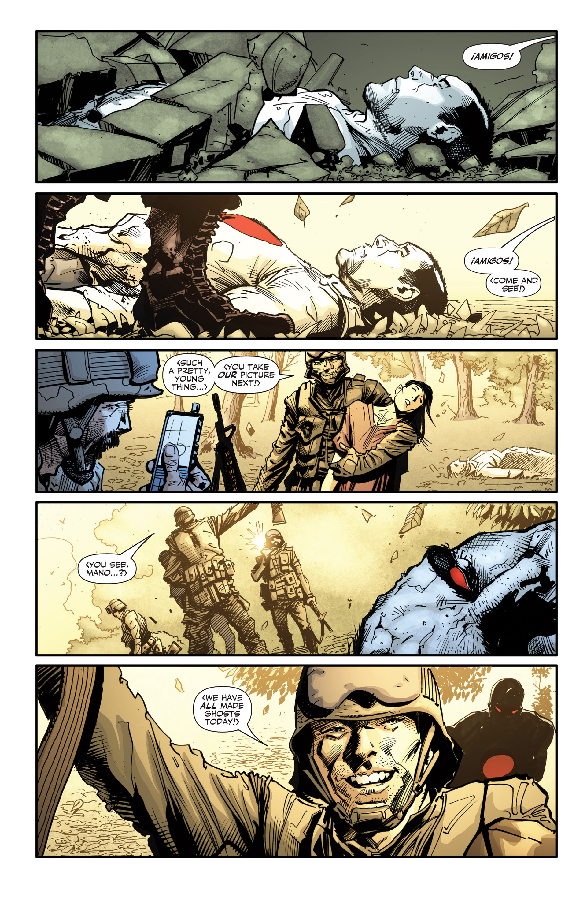 Read online Armor Hunters: Bloodshot comic -  Issue #3 - 19