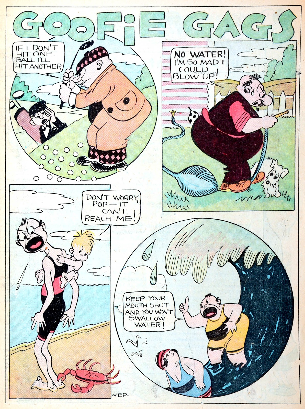 Read online Famous Funnies comic -  Issue #13 - 5