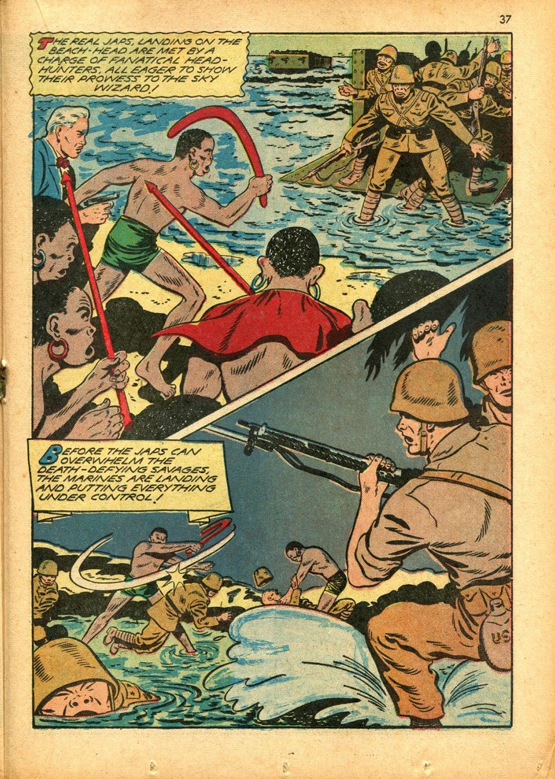 Read online Super-Magician Comics comic -  Issue #15 - 36