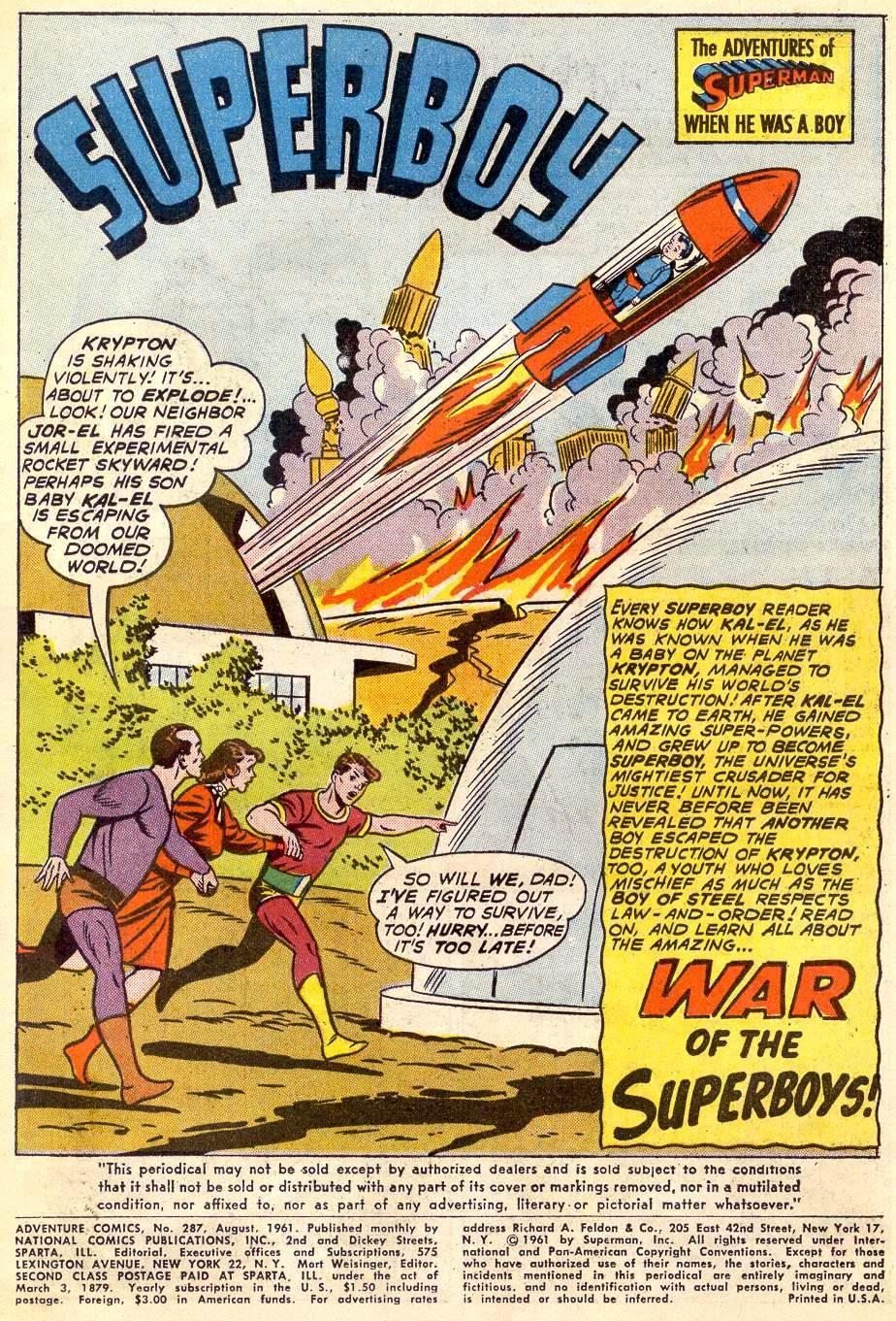 Read online Adventure Comics (1938) comic -  Issue #287 - 3