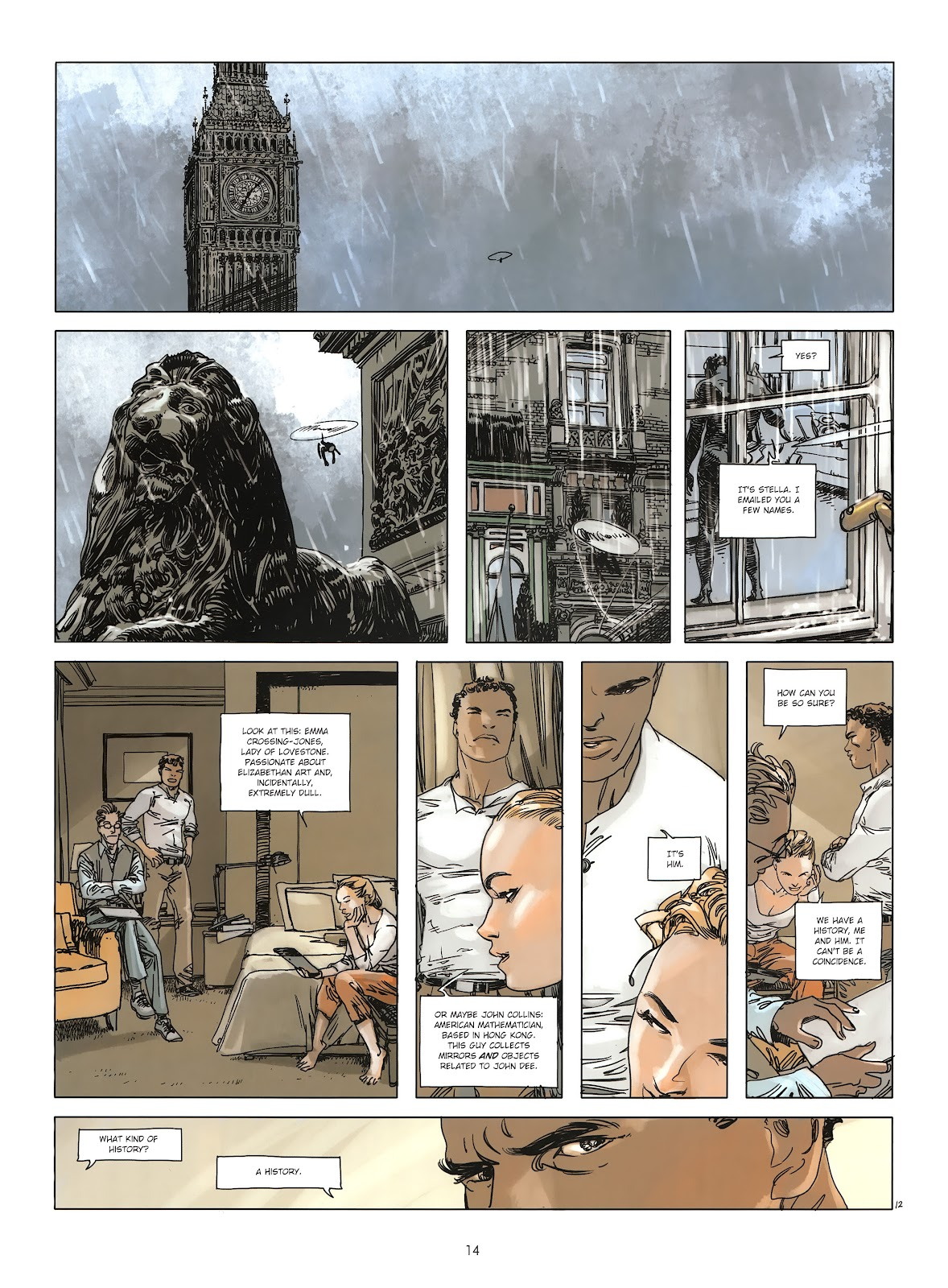 Read online Cutting Edge (2013) comic -  Issue #3 - 14