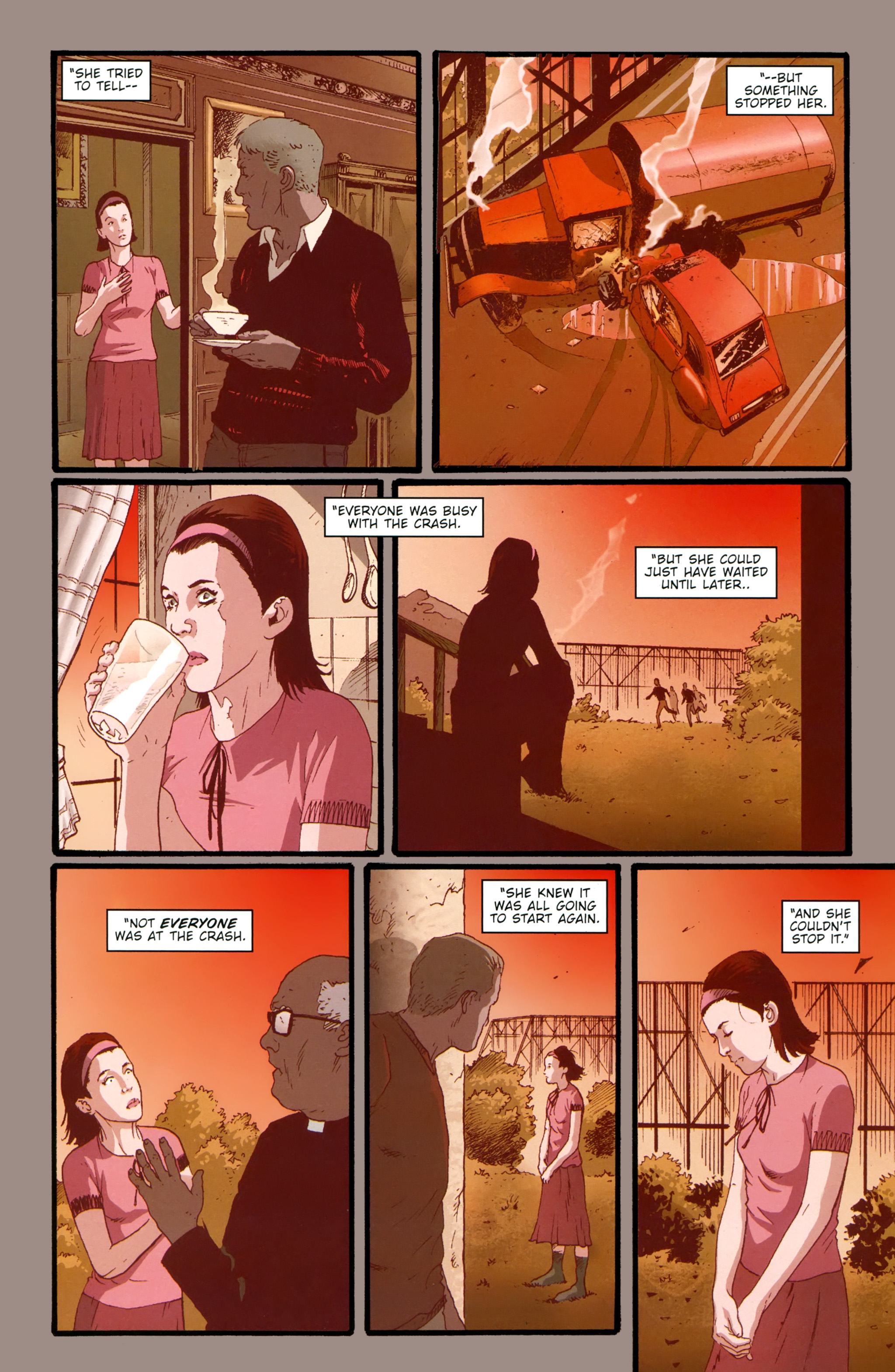 Read online The Girl With the Dragon Tattoo comic -  Issue # TPB 2 - 121
