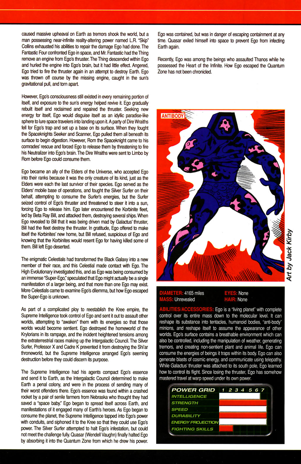 Read online All-New Official Handbook of the Marvel Universe A to Z comic -  Issue #4 - 6