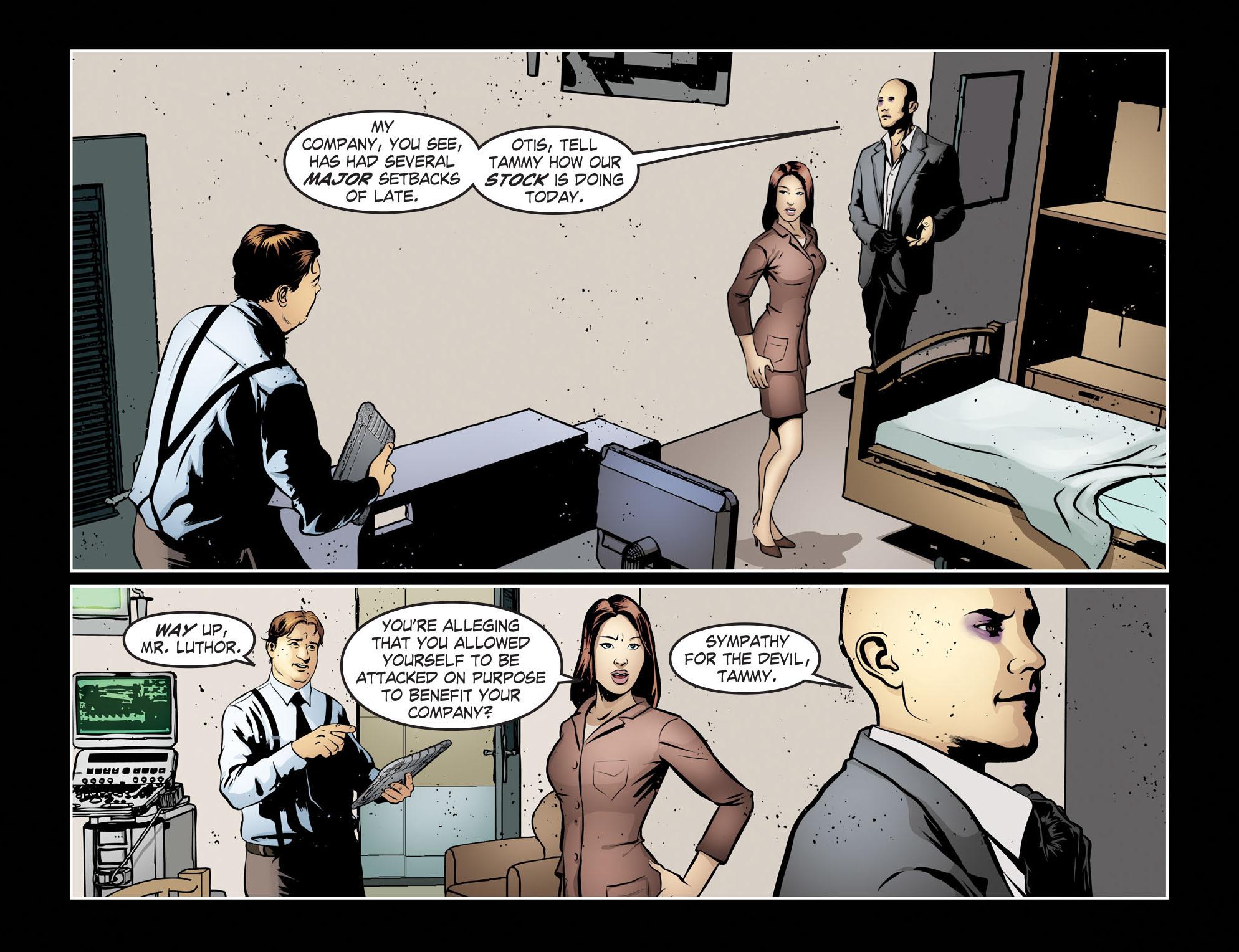 Read online Smallville: Season 11 comic -  Issue #55 - 7