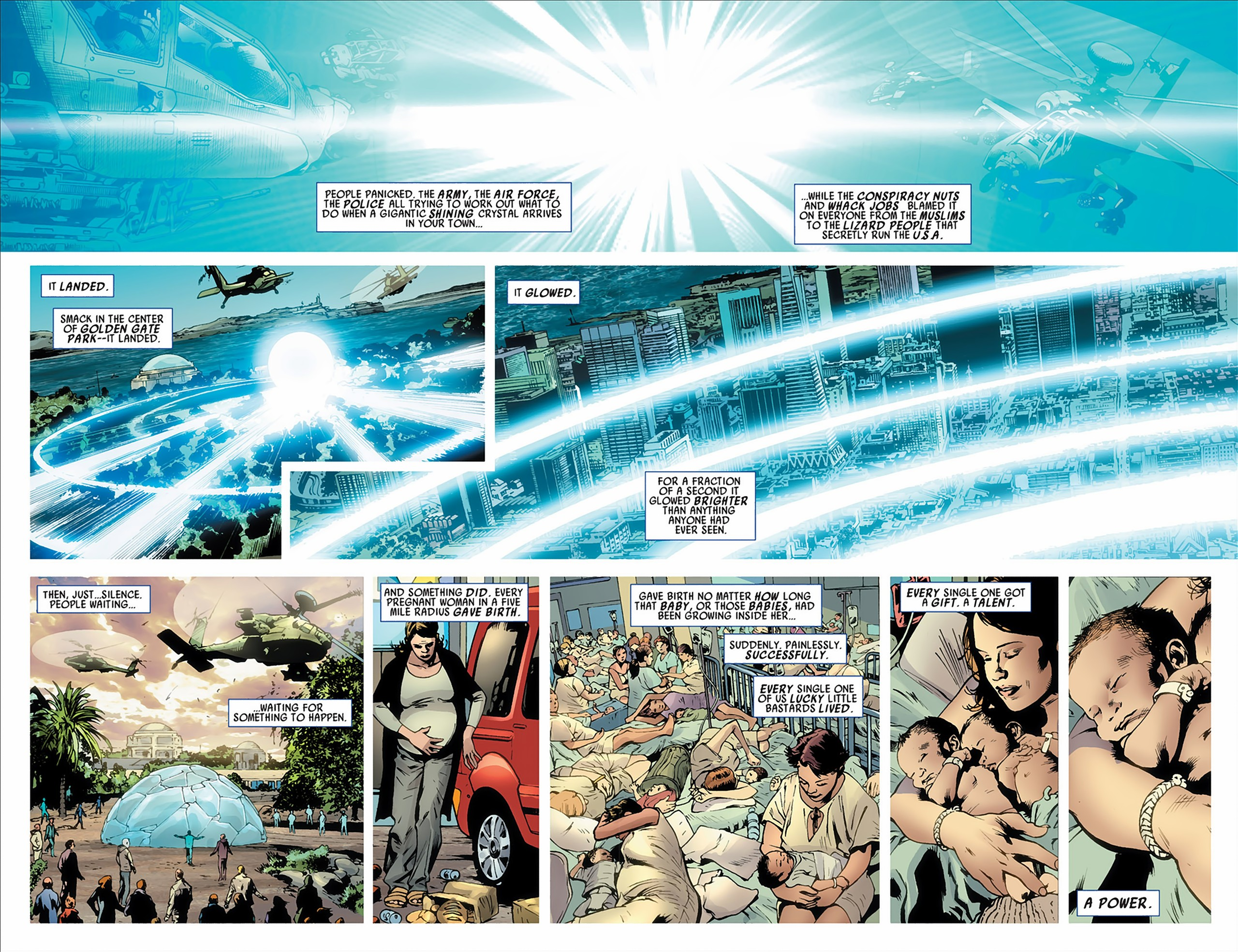 Read online America's Got Powers comic -  Issue #2 - 6
