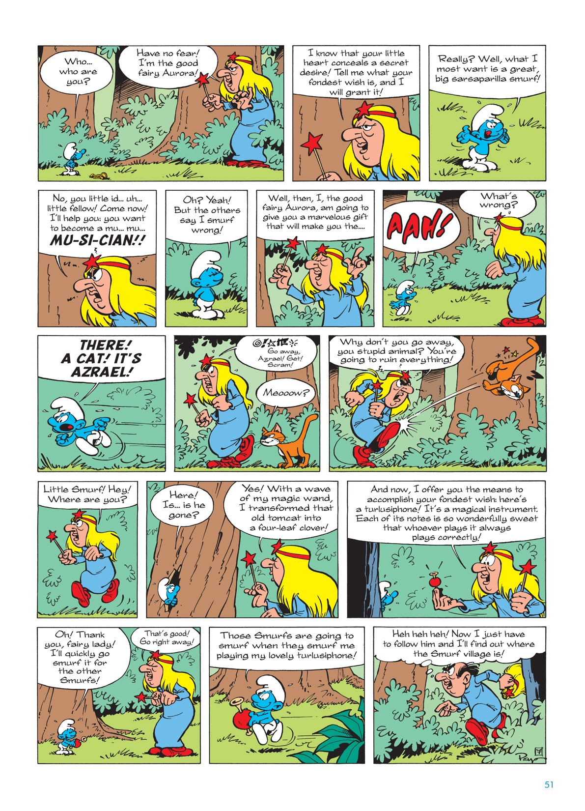 The Smurfs 3 Read The Smurfs Issue 3 Page 51