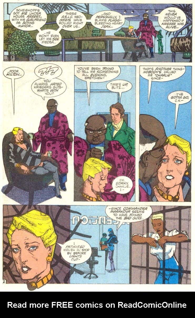 Read online American Flagg! comic -  Issue #12 - 3