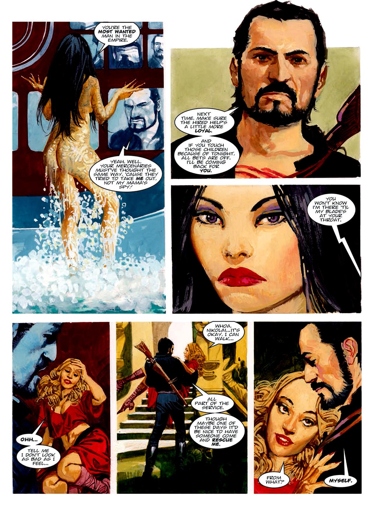Read online Nikolai Dante comic -  Issue # TPB 6 - 167