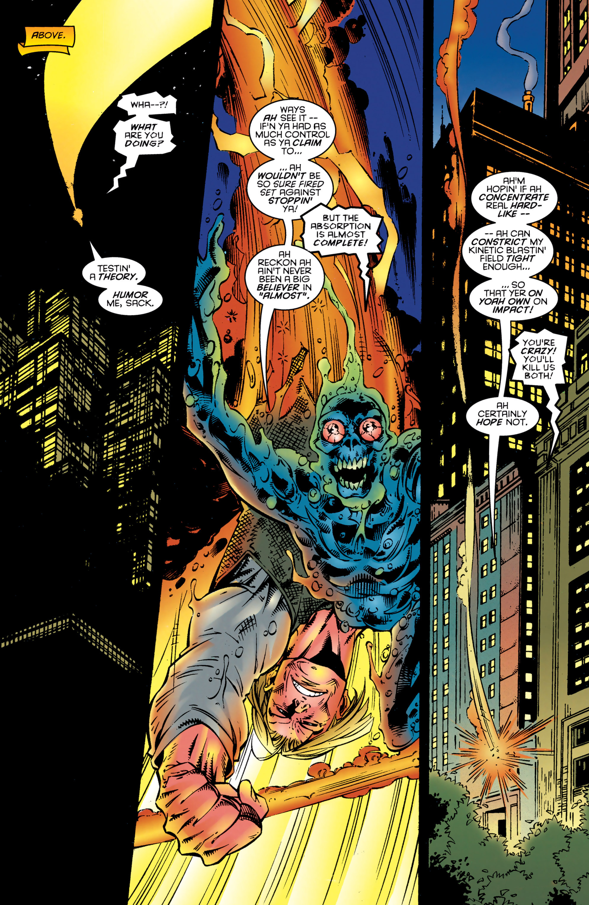Read online Uncanny X-Men (1963) comic -  Issue #324 - 18