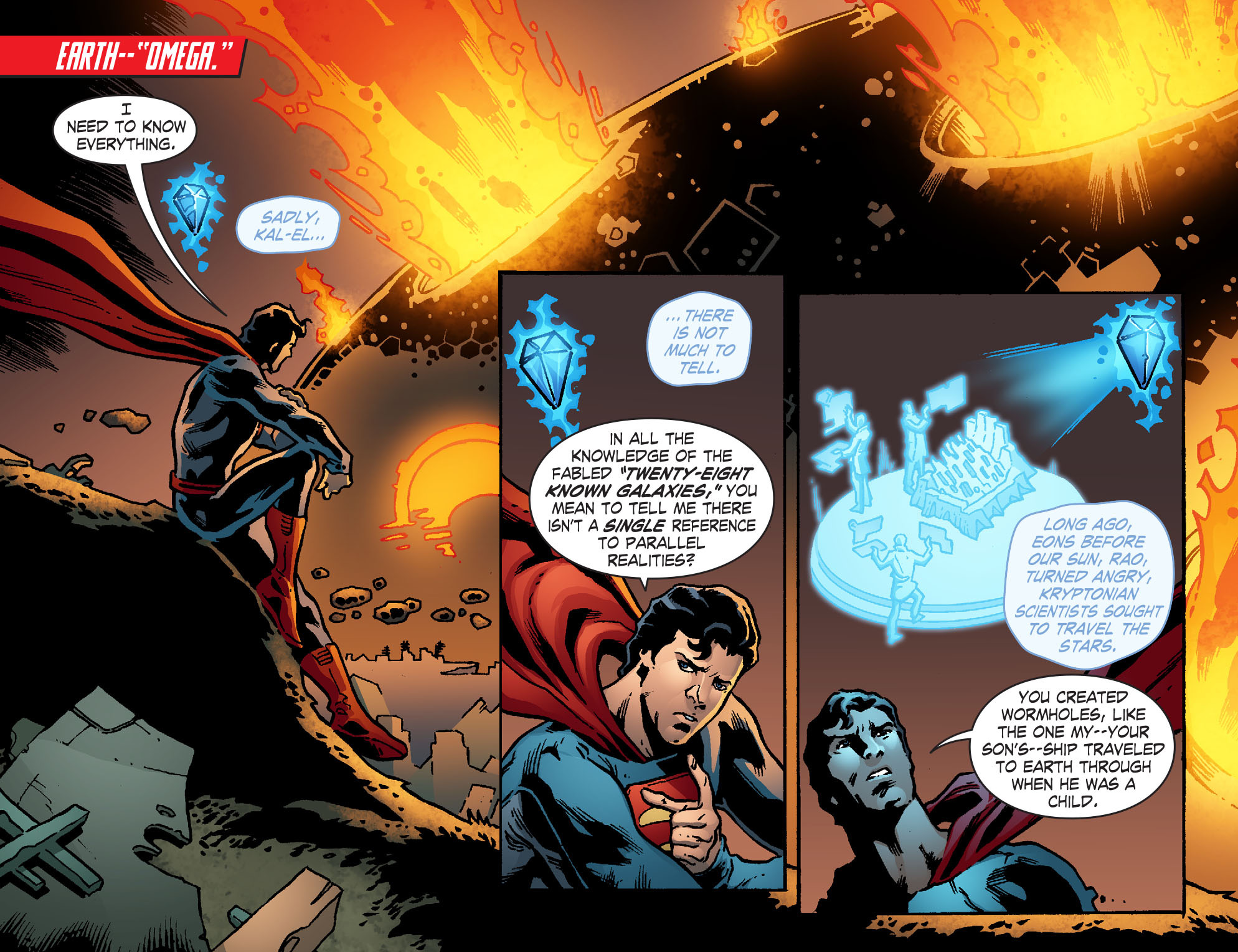 Read online Smallville: Chaos [II] comic -  Issue #7 - 3