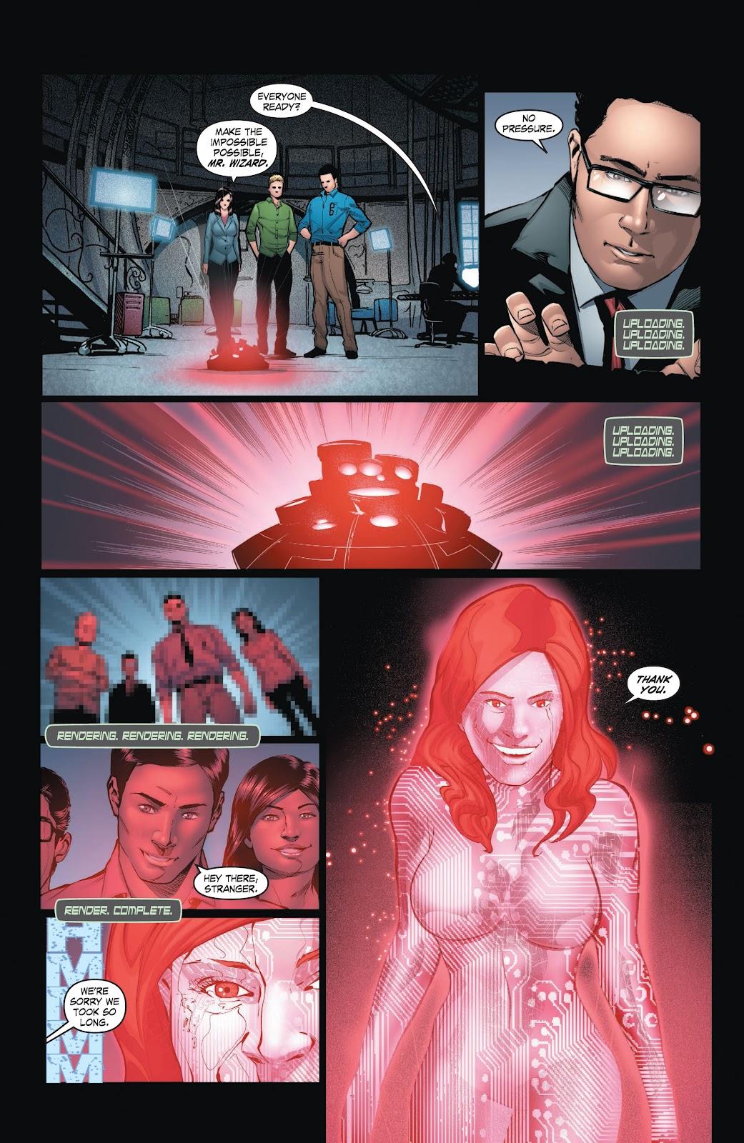 Read online Smallville Season 11 [II] comic -  Issue # TPB 3 - 129