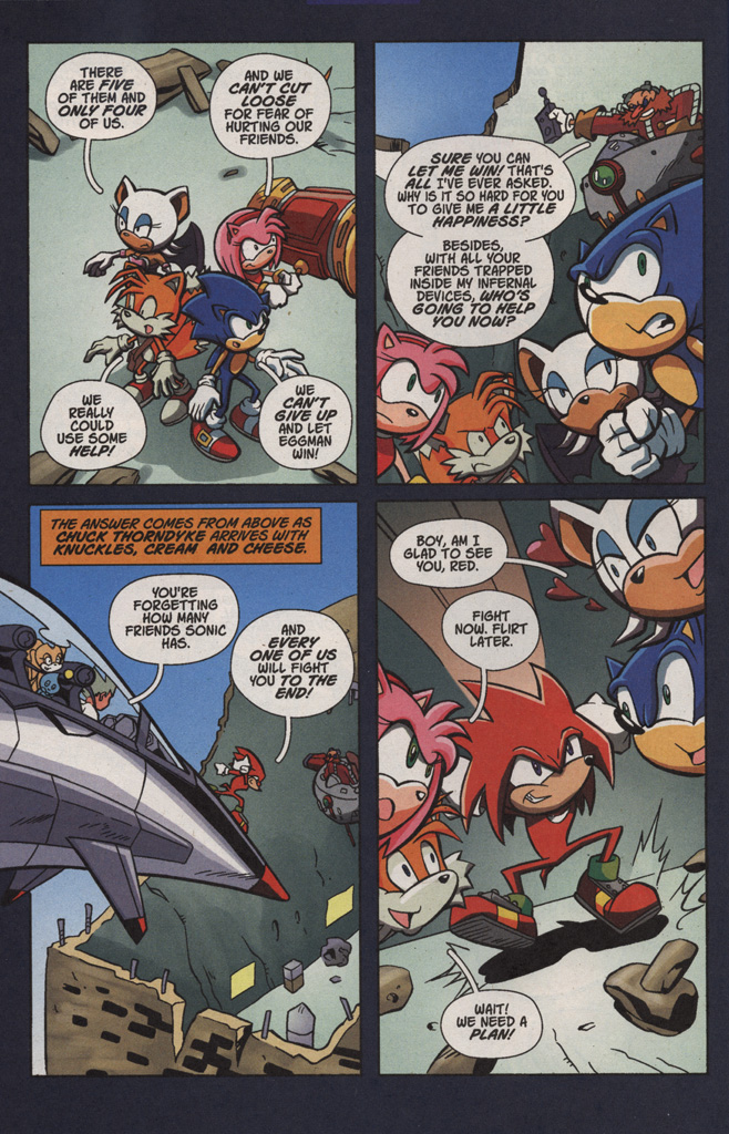 Read online Sonic X comic -  Issue #4 - 18