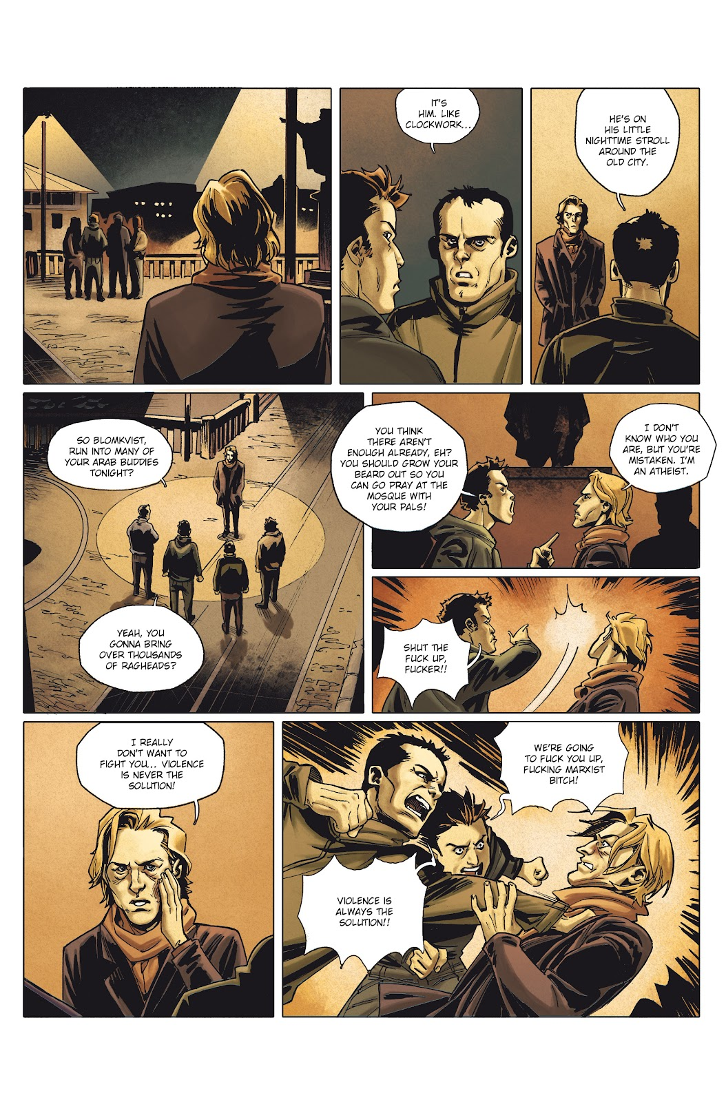 Read online Millennium: The Girl Who Danced With Death comic -  Issue #1 - 53